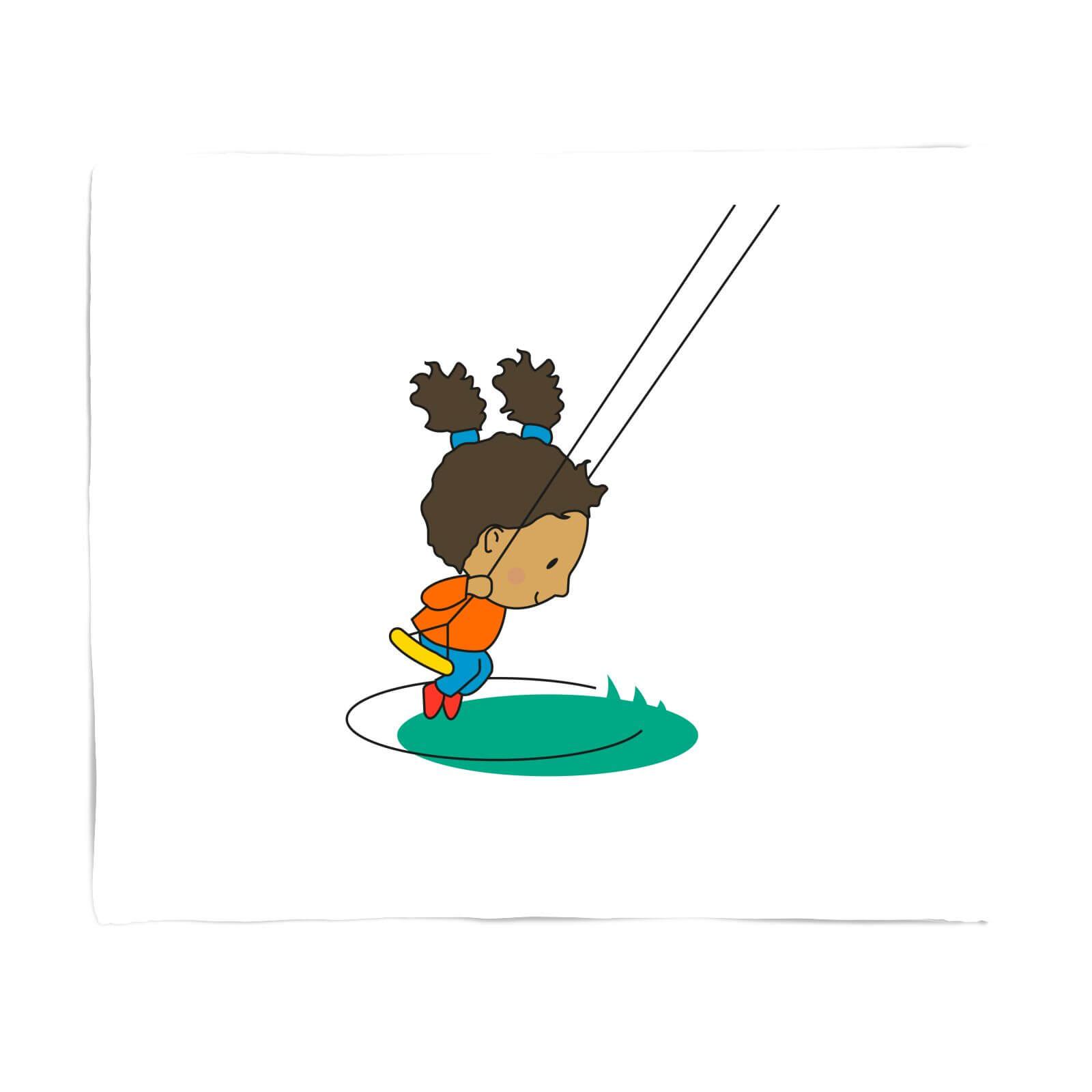 Swing Girl Fleece Blanket   S