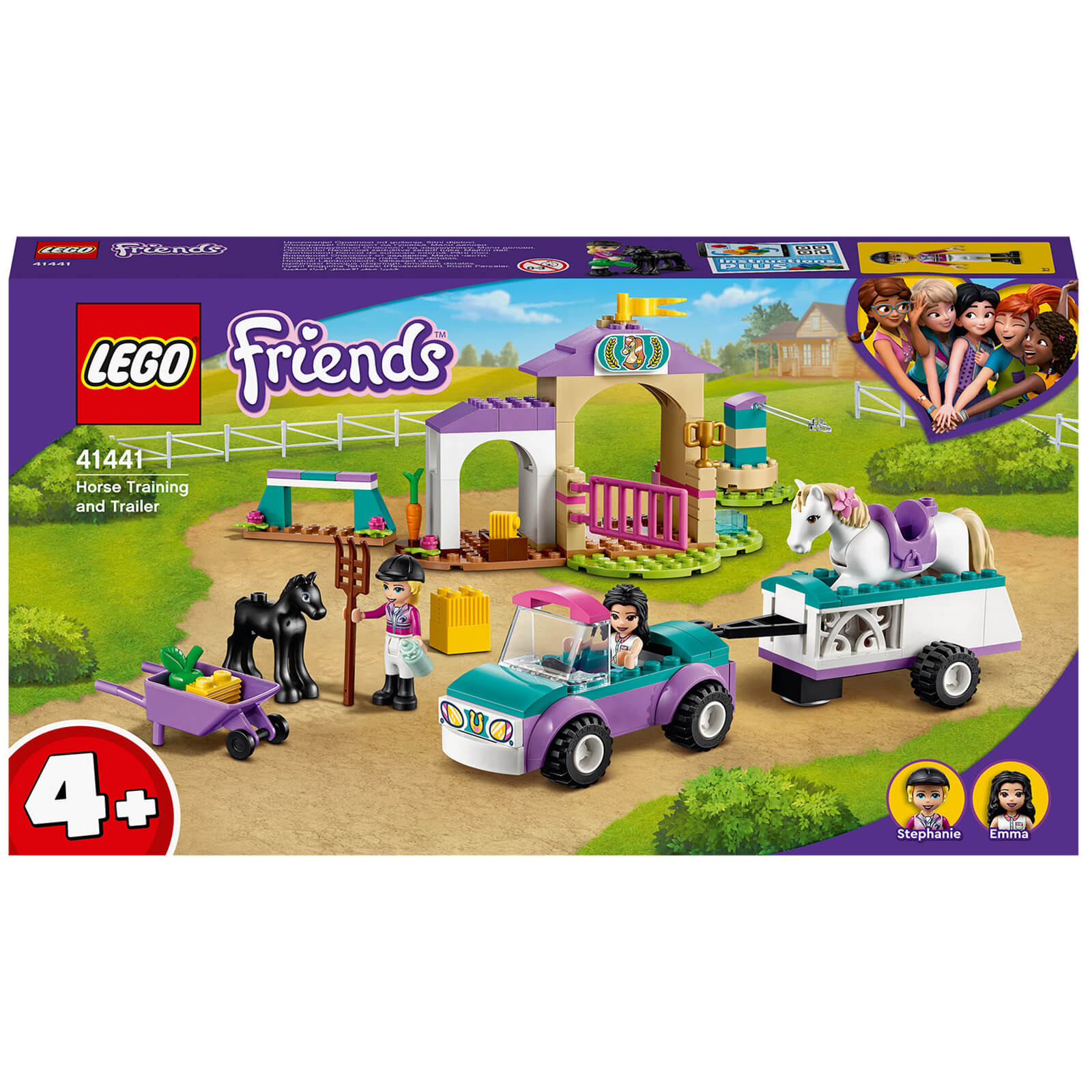 Image of LEGO Friends Horse Training and Trailer Set(41441)