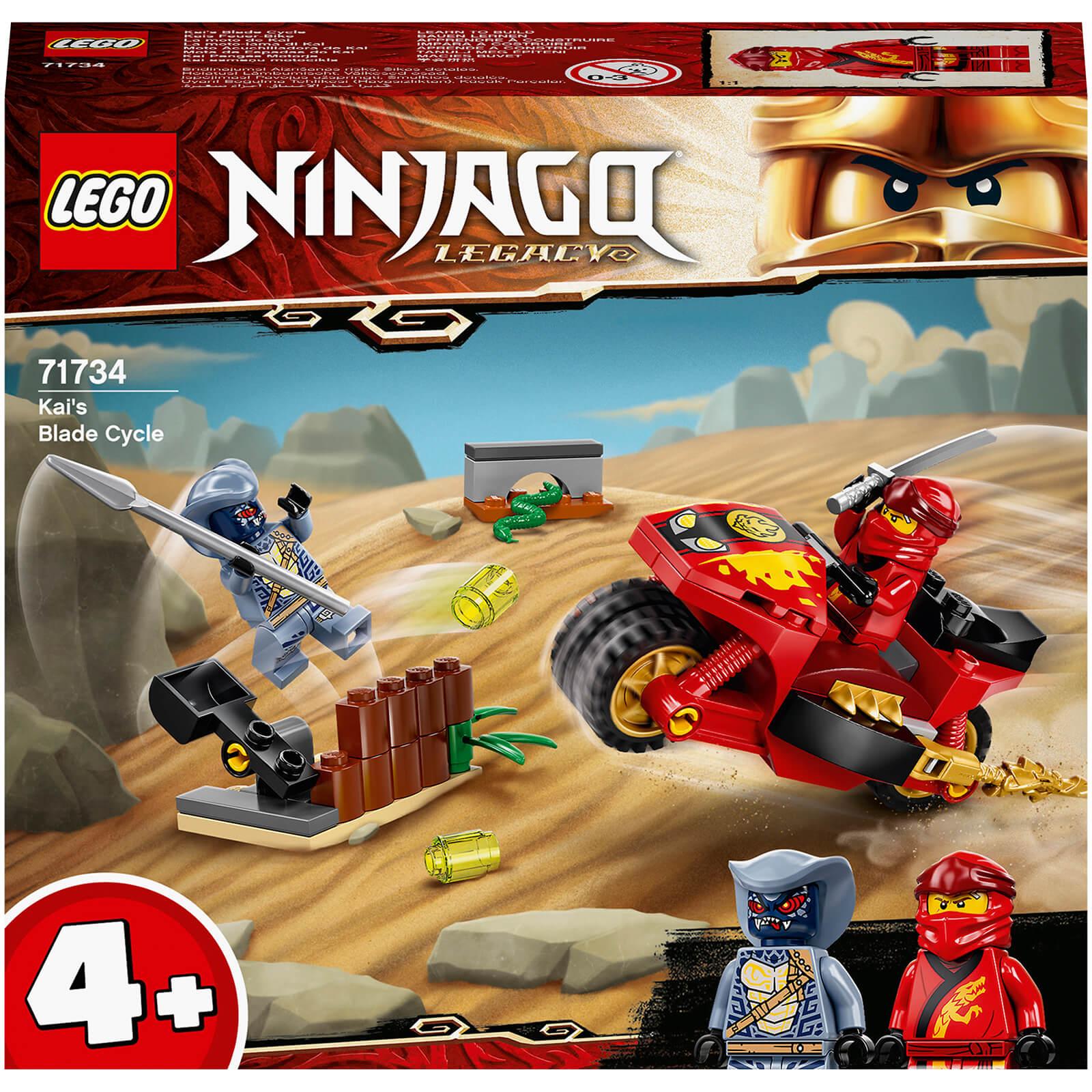 LEGO Ninjago Kais Blade Cycle Toy (71734)