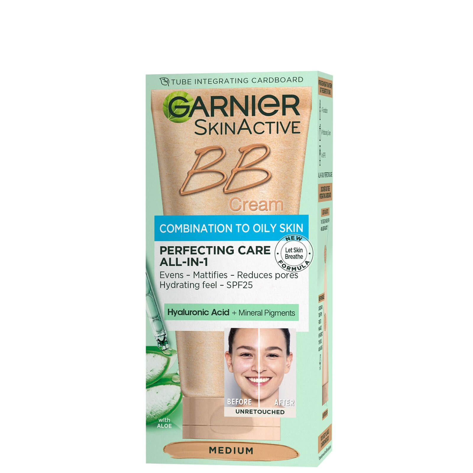 Купить Garnier BB Cream Oil Free Tinted Moisturiser (Various Shades) - Medium