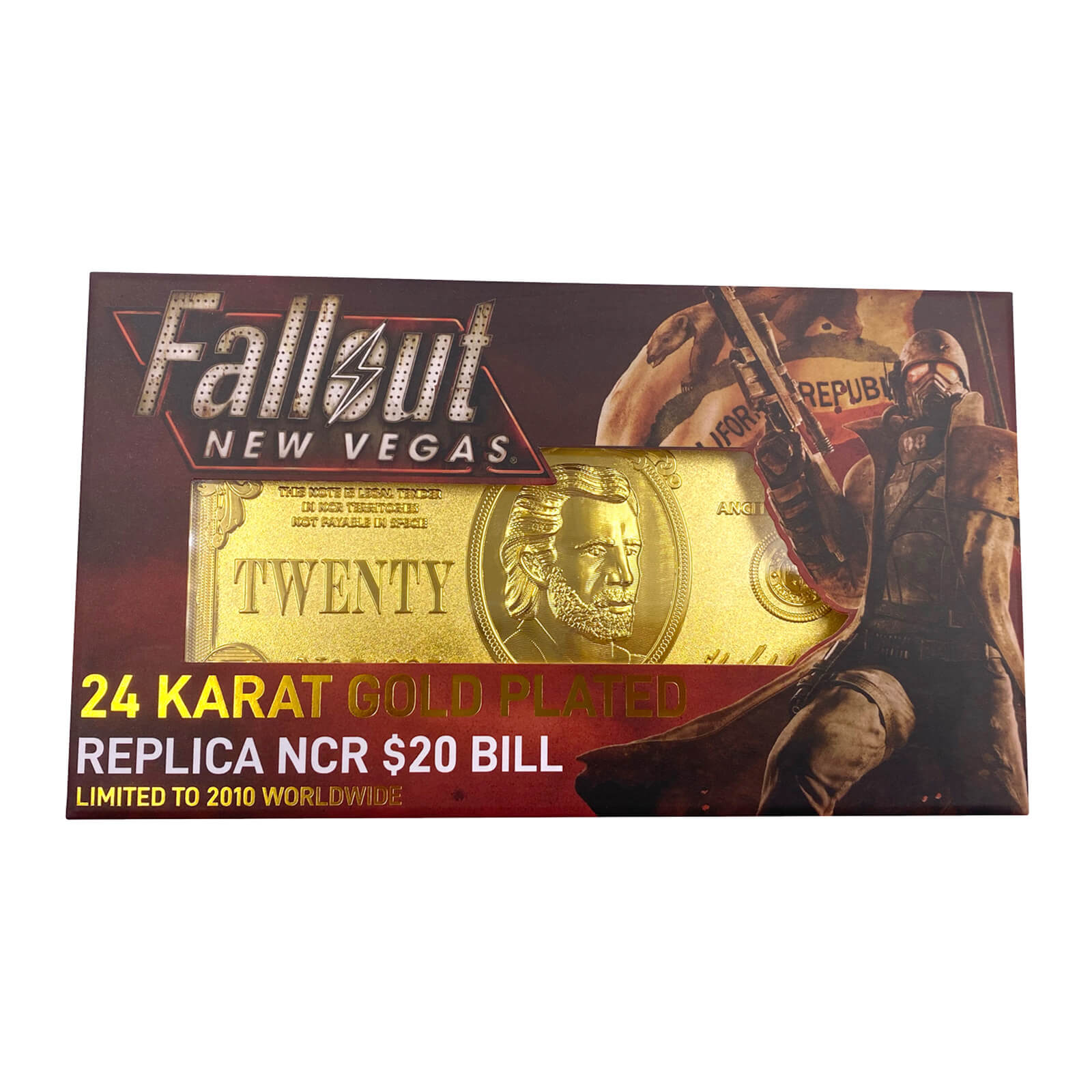 Fallout - NCR $20 Replica Bill