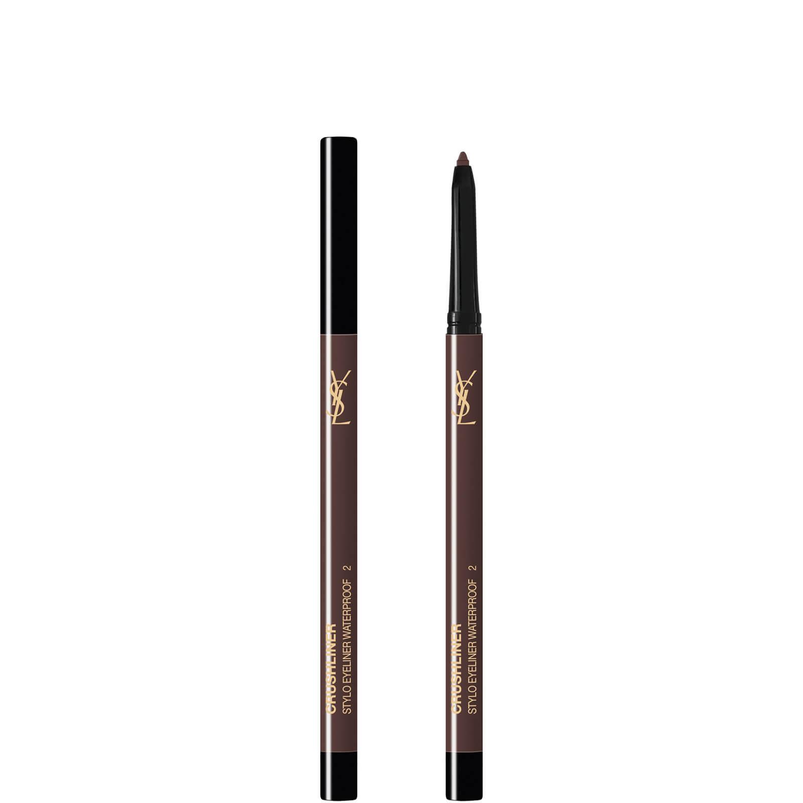 Купить Водостойкий карандаш для глаз Yves Saint Laurent Exclusive Crushliner Waterproof Stylo, 3 гр (в разных оттенках) - #2