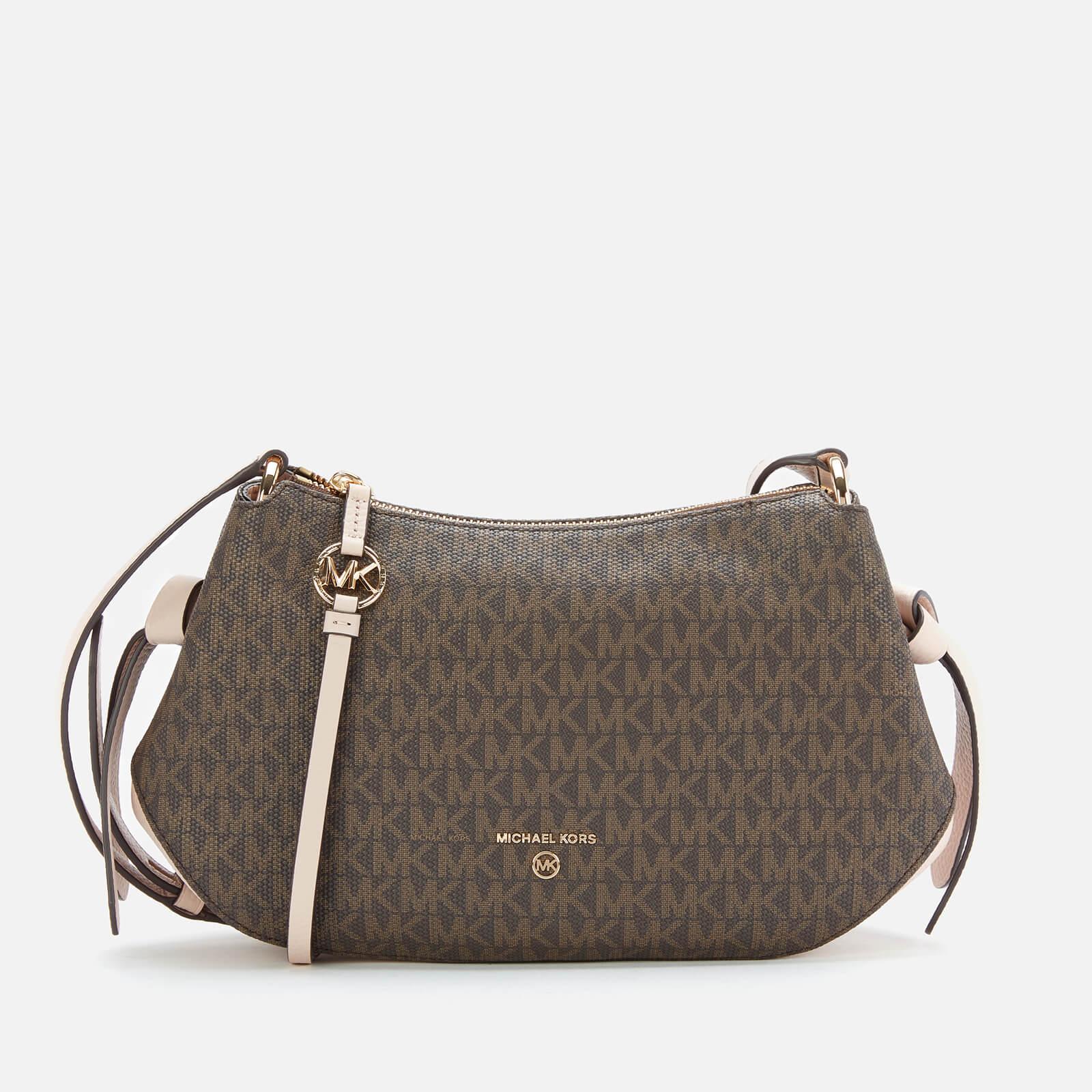 MICHAEL MICHAEL KORS Women's Grand Messenger Bag - Brown/Soft Pink