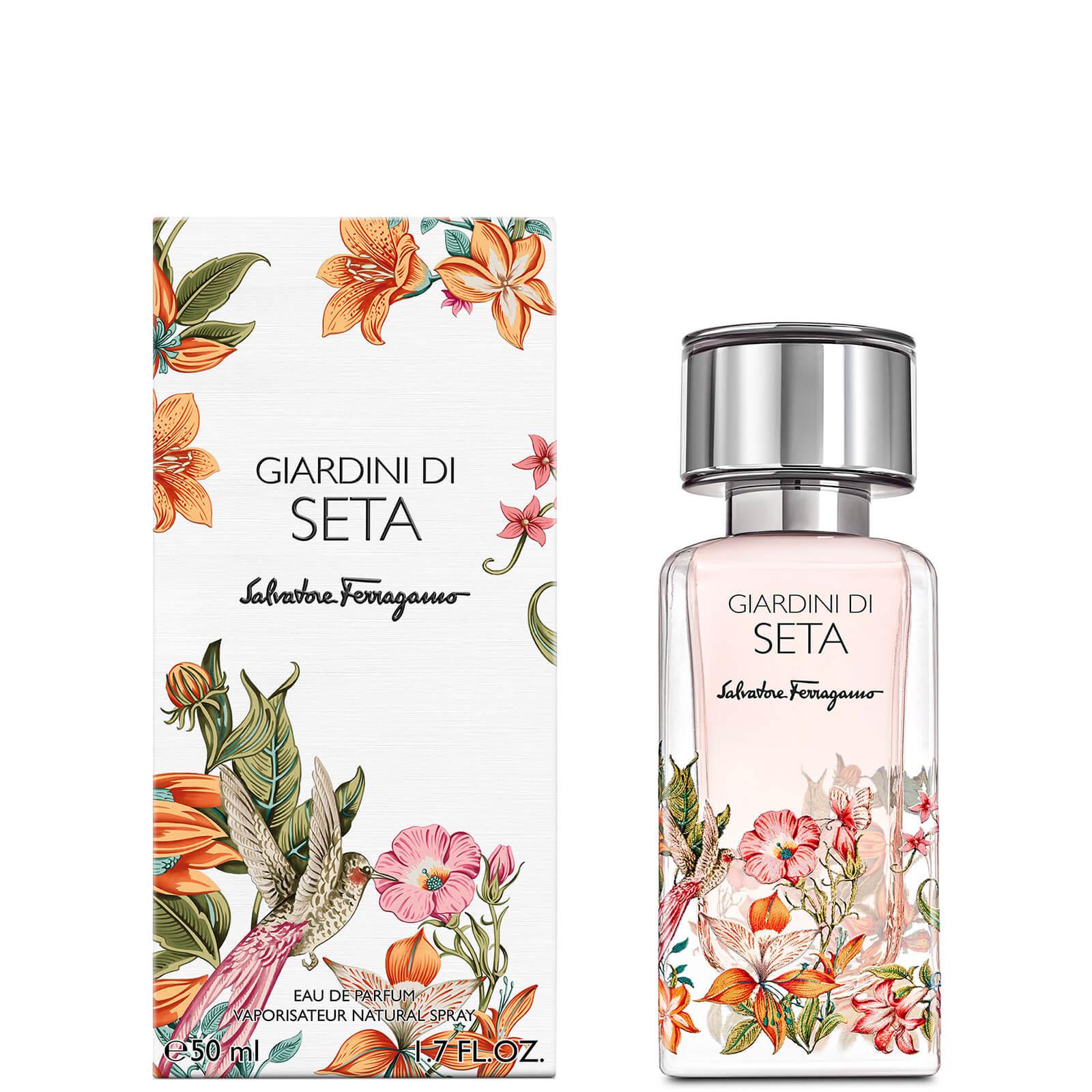 Image of Eau de Parfum Storie Giardini Di Seta Salvatore Ferragamo 50ml