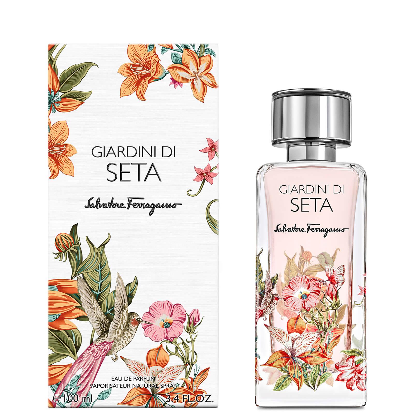 Image of Eau de Parfum Storie Giardini Di Seta Salvatore Ferragamo 100ml