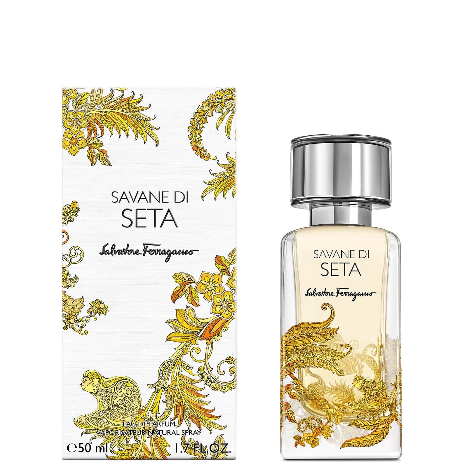 Image of Eau de Parfum Storie Savane Di Seta Salvatore Ferragamo 50ml