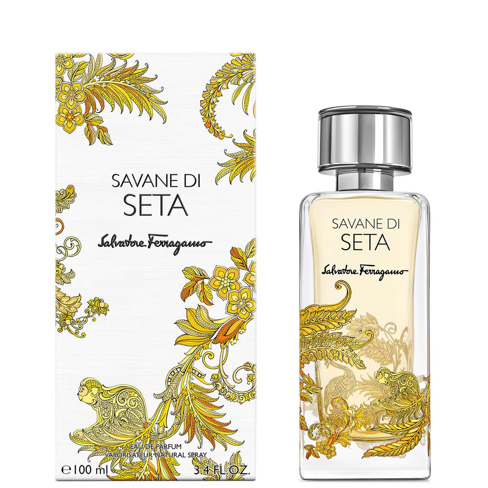 Image of Eau de Parfum Storie Savane Di Seta Salvatore Ferragamo 100ml