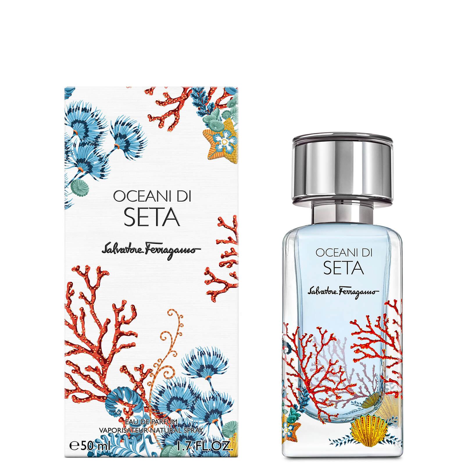 Image of Eau de Parfum Storie Oceane Di Seta Salvatore Ferragamo 50ml