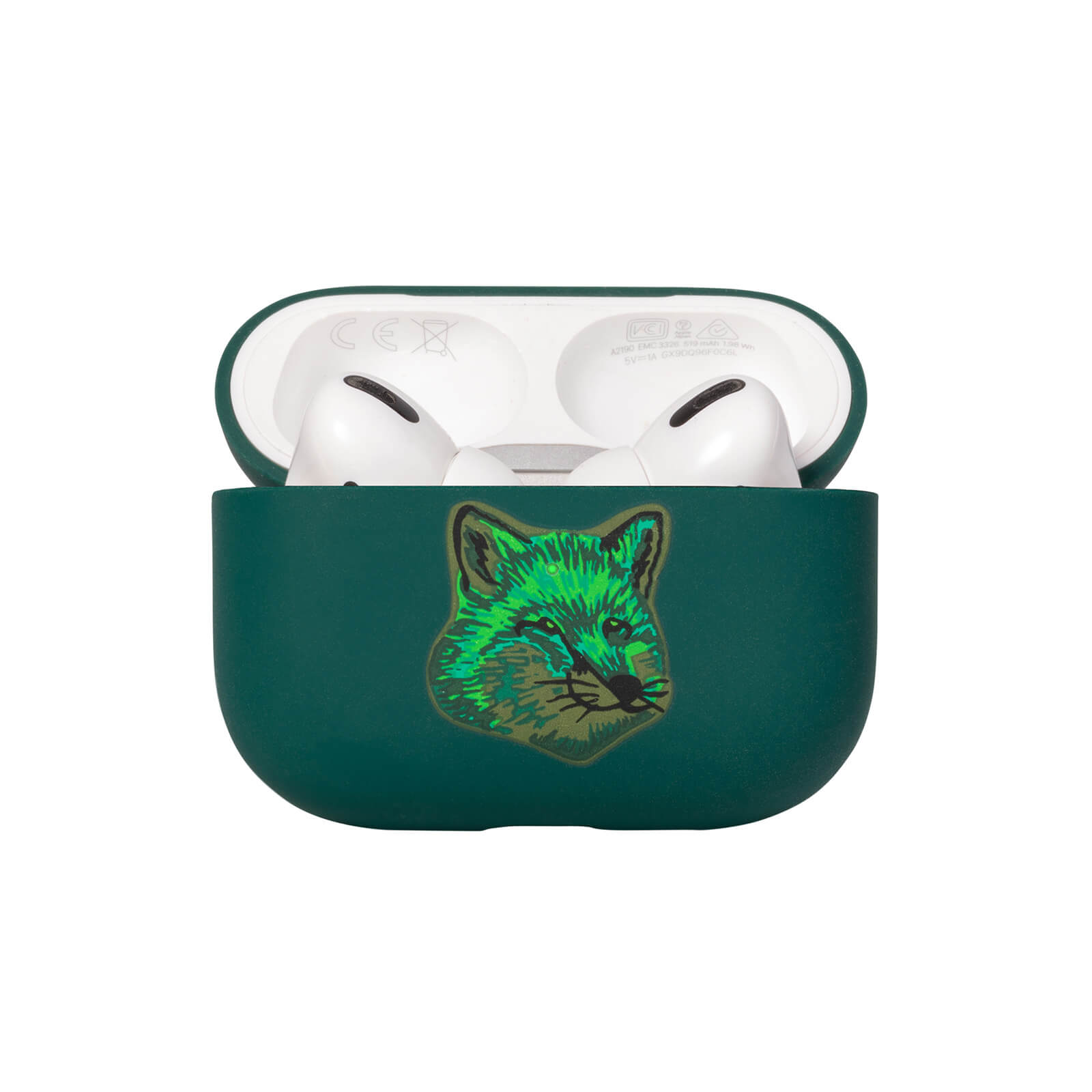 Native Union x Maison Kitsuné Cool Tone Fox Head Airpod Pro Case - Green
