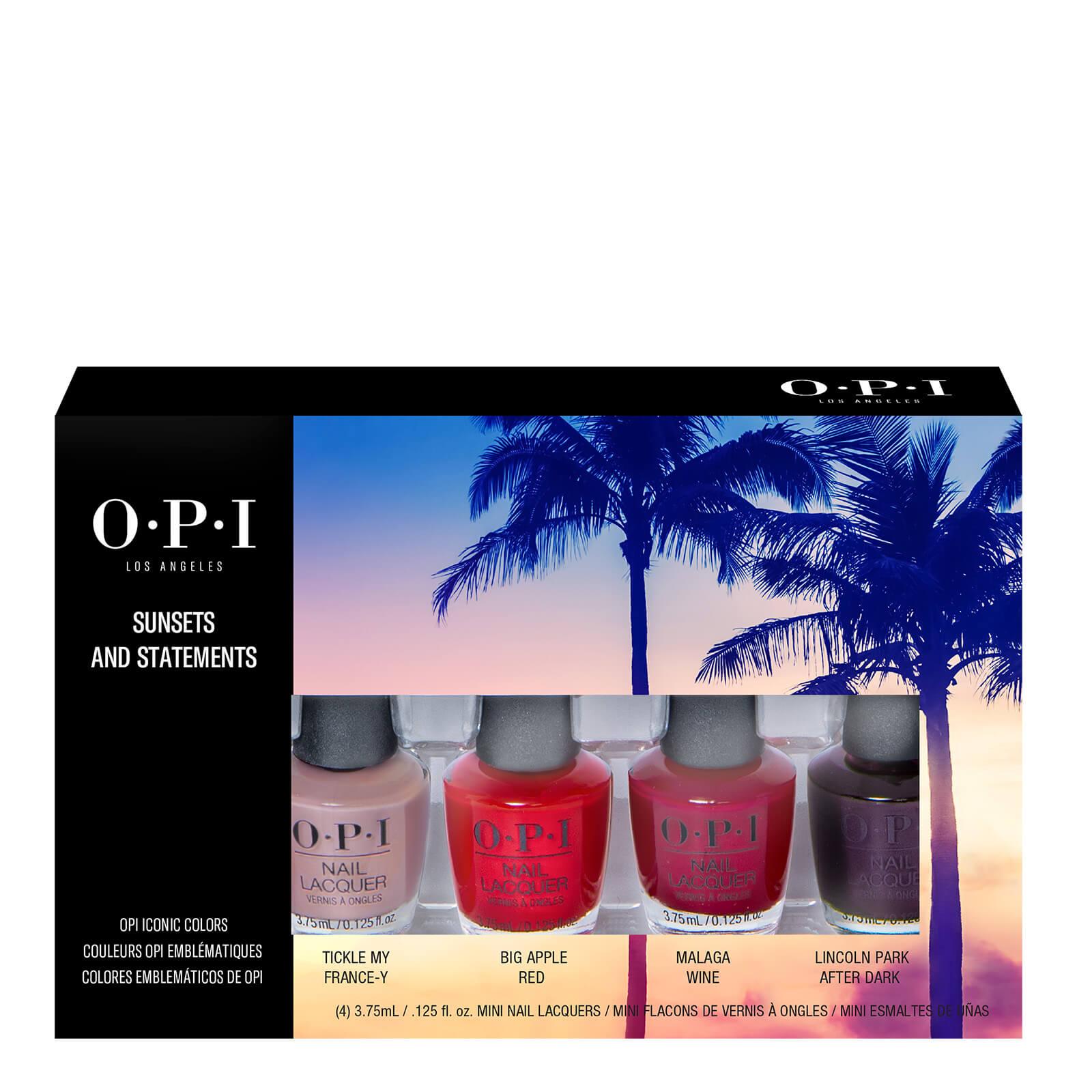 Купить OPI Sunsets and Statements Mini Nail Polish Gift Set 4 x 3.75ml