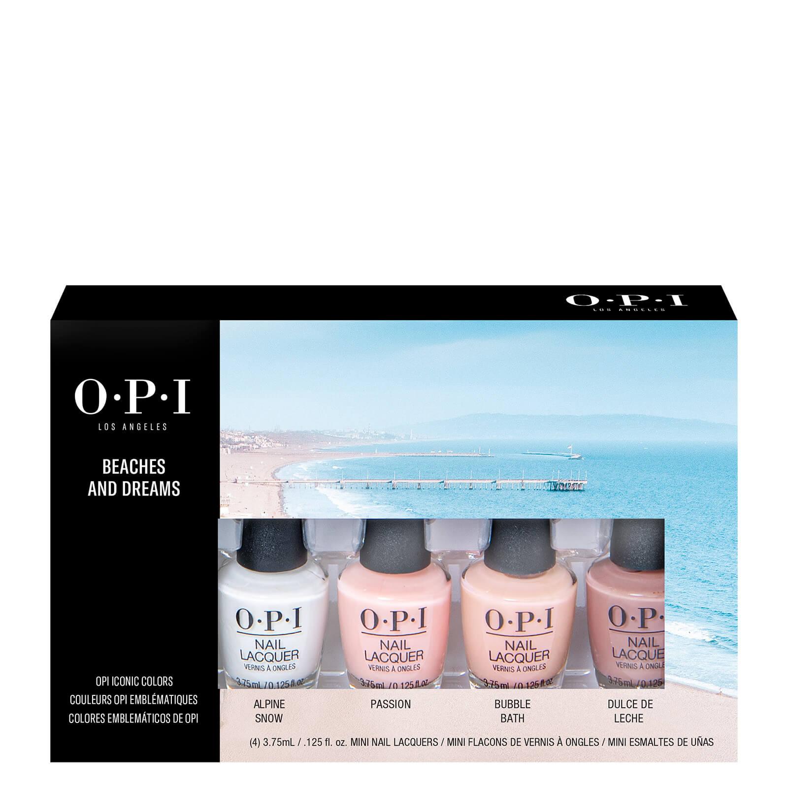 Купить OPI Beach and Dreams Mini Nail Polish Gift Set 4 x 3.75ml