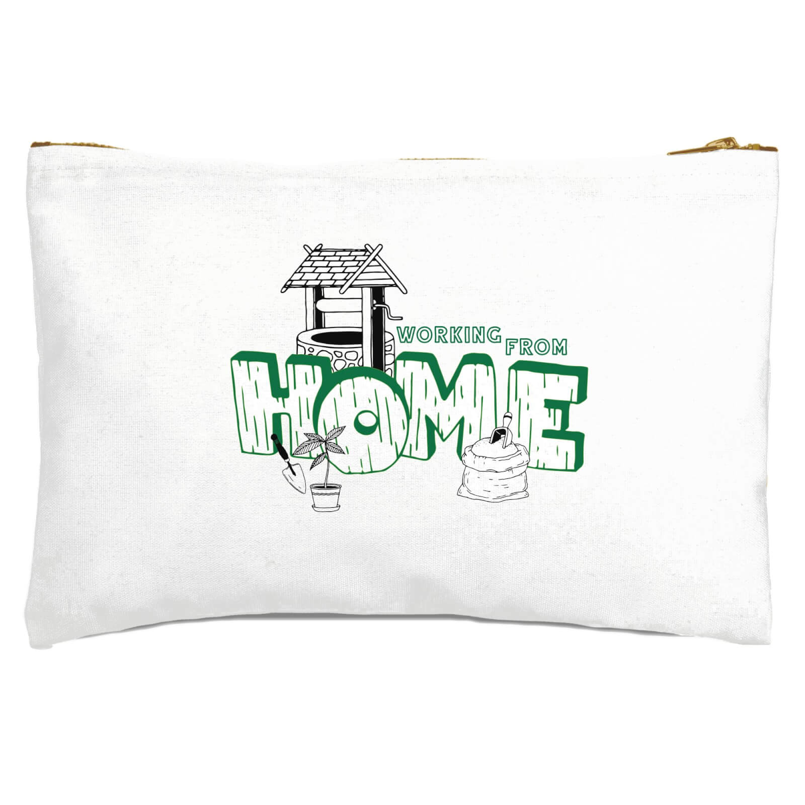 Gardening Working From Home Zipped Pouch
