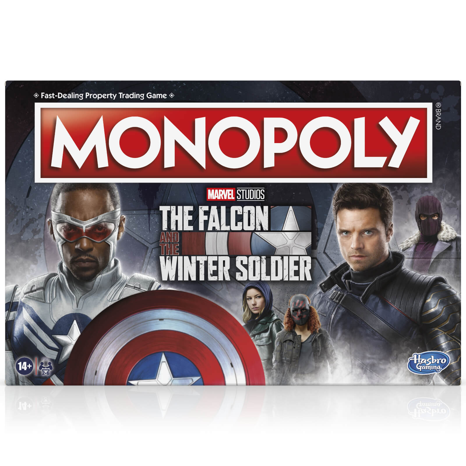 Image of Monopoly Board Game - The Falcon and the Winter Soldier Edition