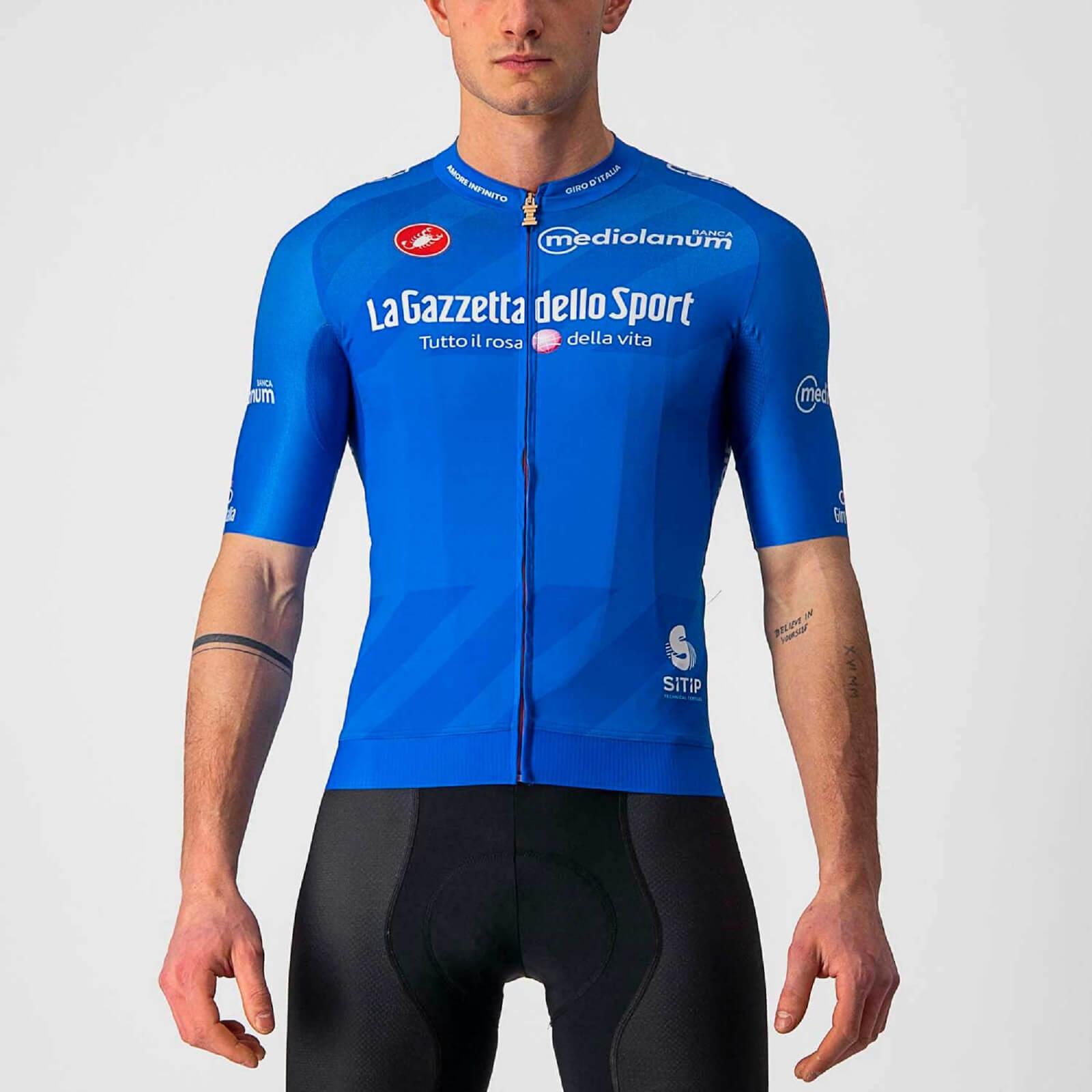 Castelli Giro d'Italia 104 Race Jersey - XL - Azzurro