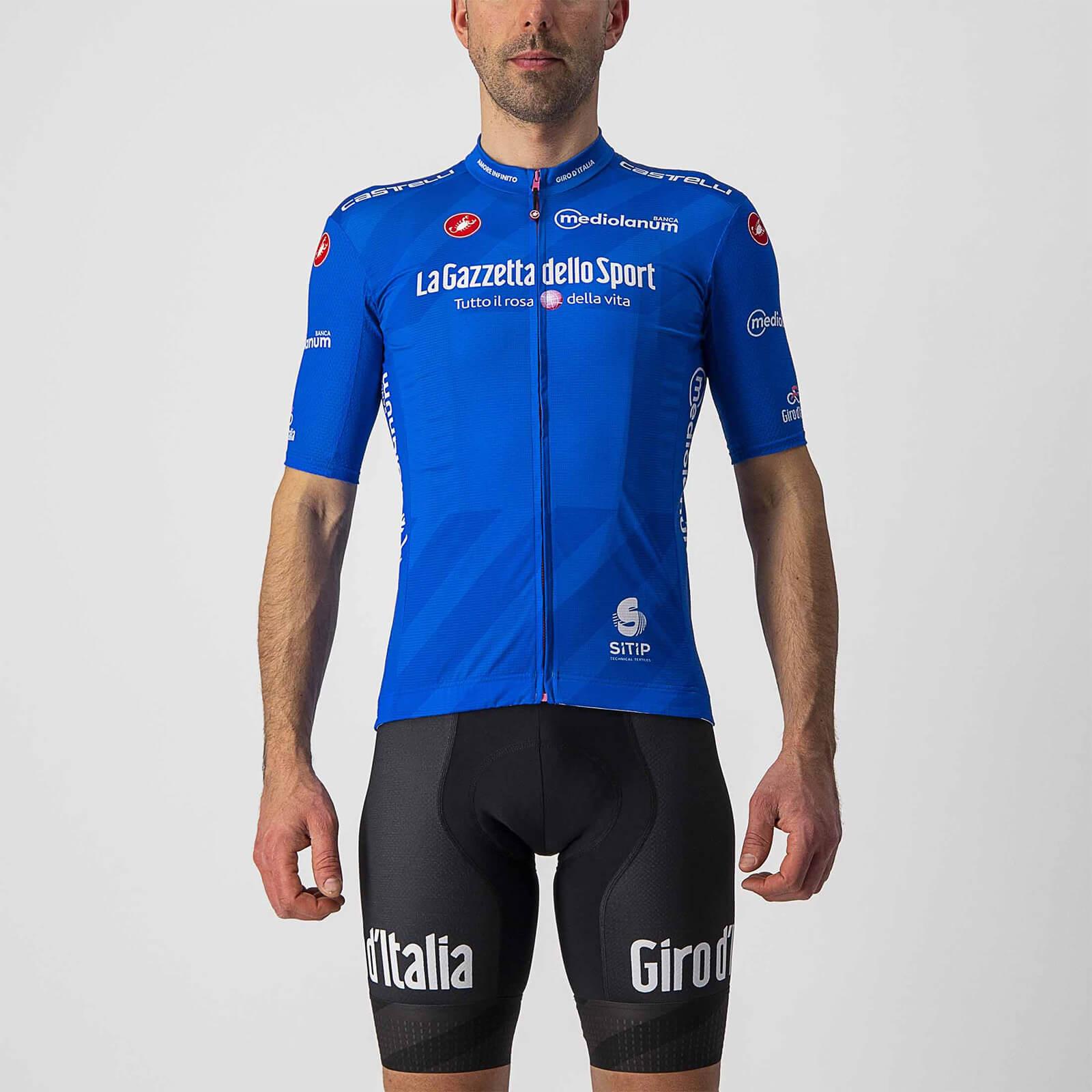 Castelli Giro d'Italia 104 Competizione Jersey - S - Azzurro