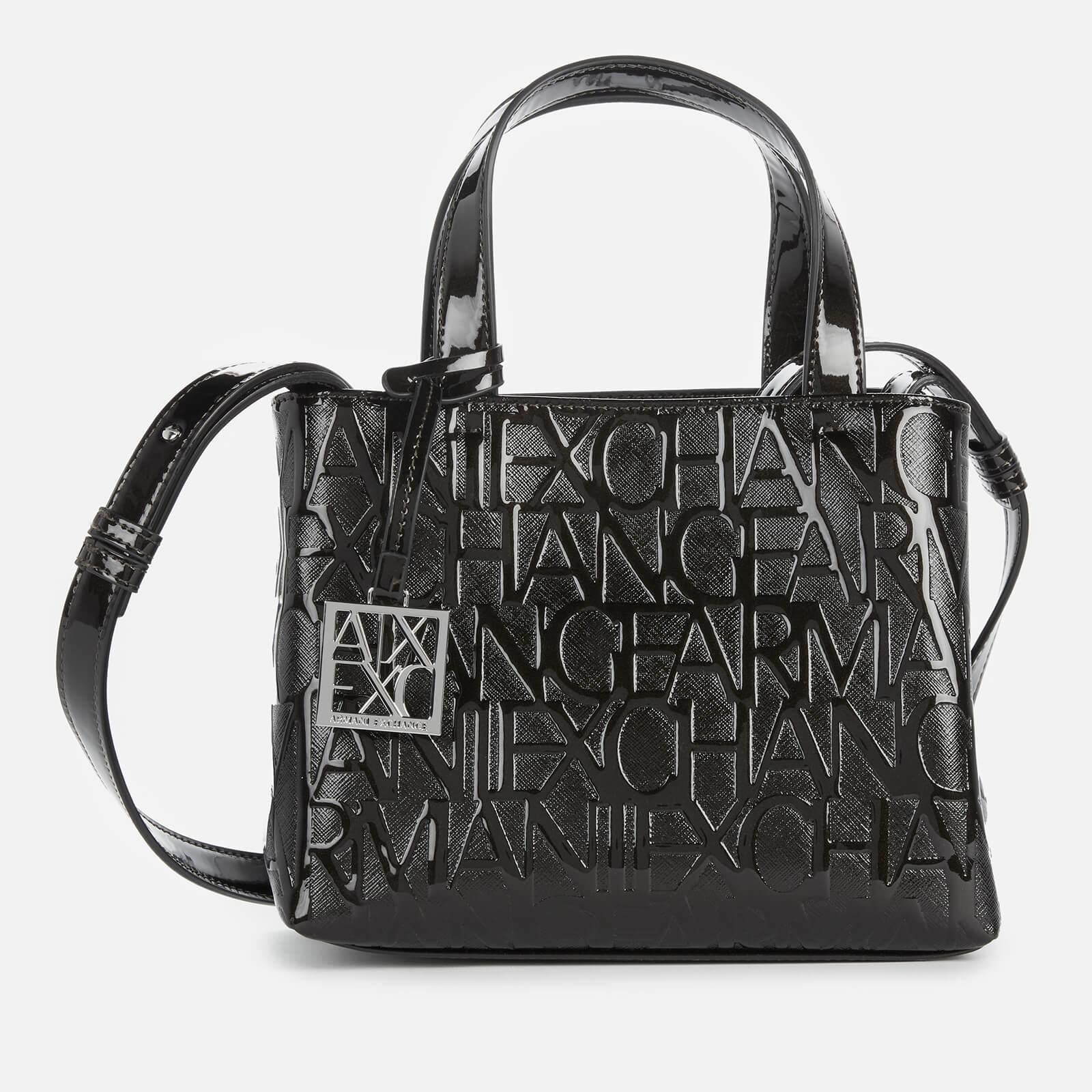 Armani Exchange Women's Liz Small Tote Bag - Black