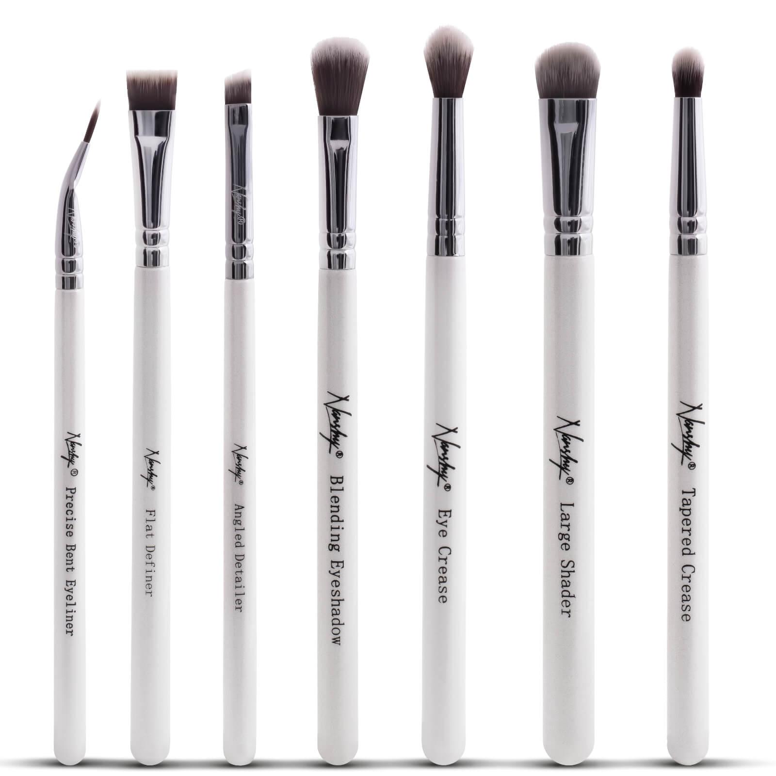 Купить The Eye Brush Set Nanshy Набор кистей для глаз - перламутровый белый