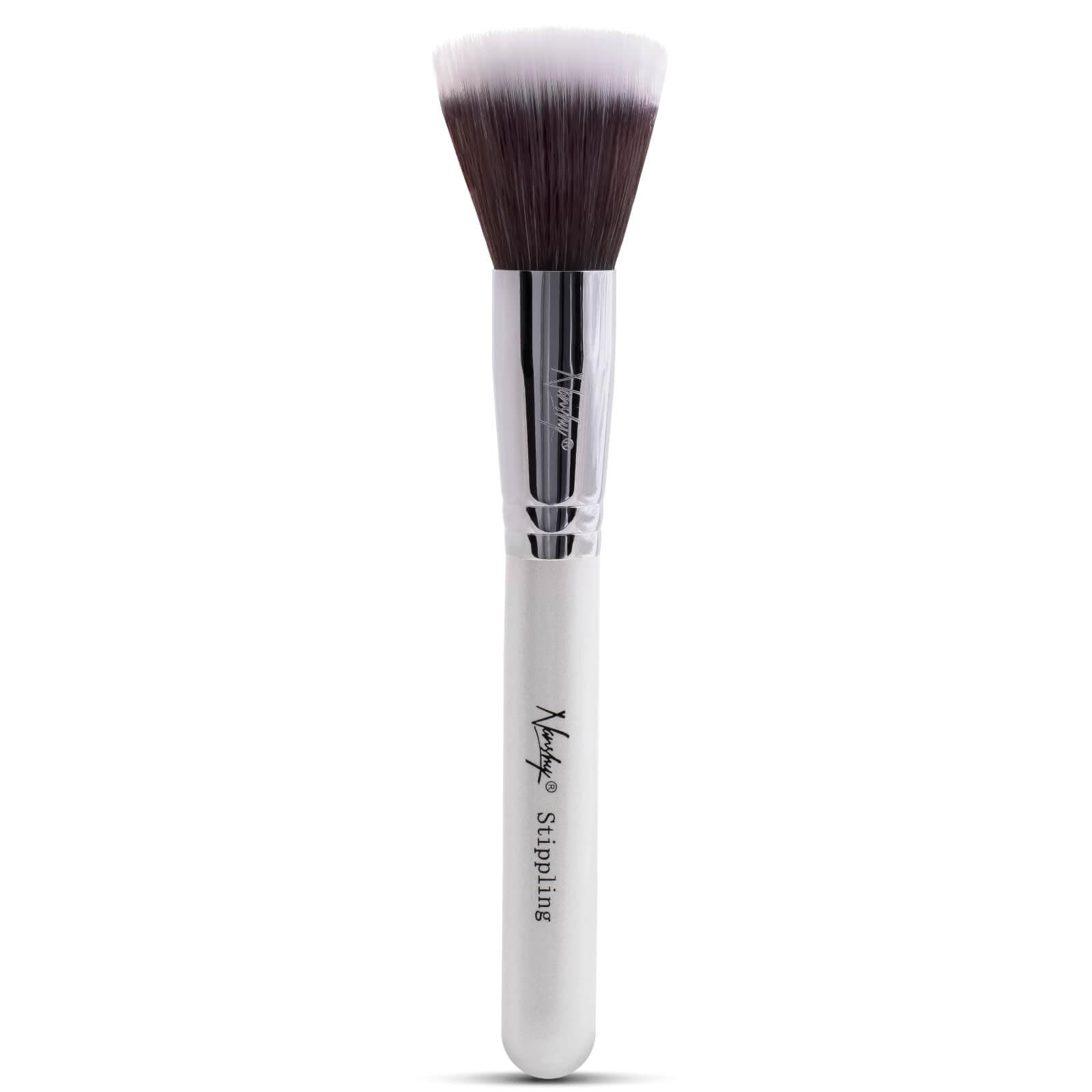 Купить Кисть для растушевки Nanshy Stippling Brush - перламутровая белая