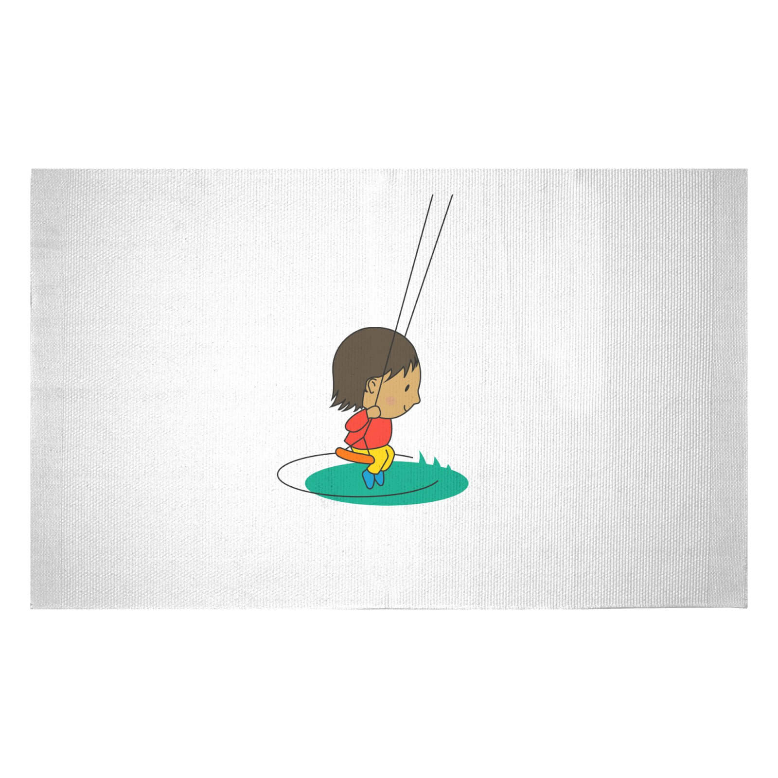 Swing Boy Woven Rug   Small