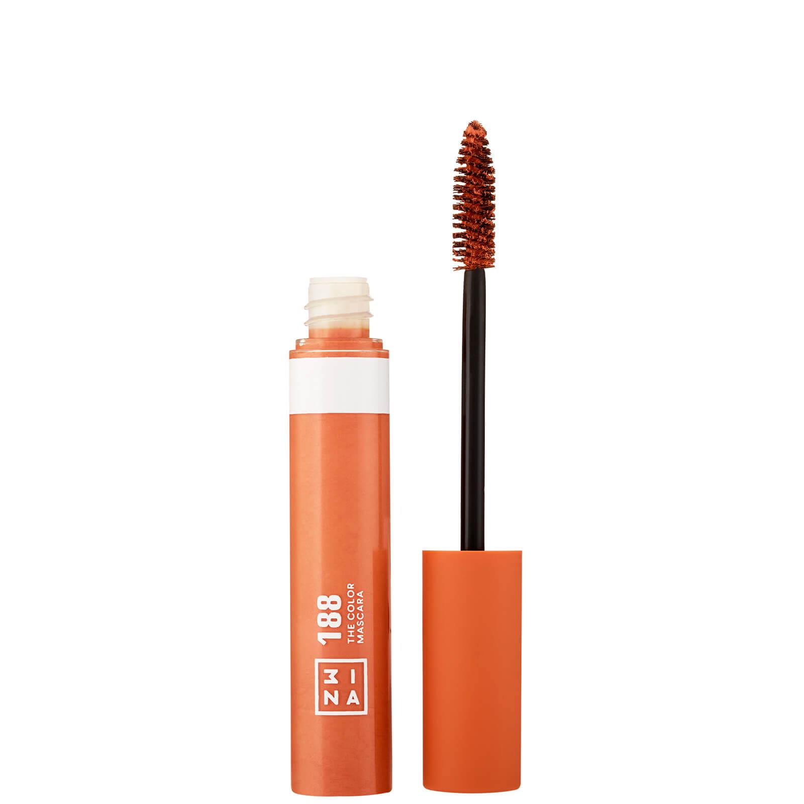 Купить Тушь для ресниц 3INA Makeup The Color (разные оттенки) - Orange
