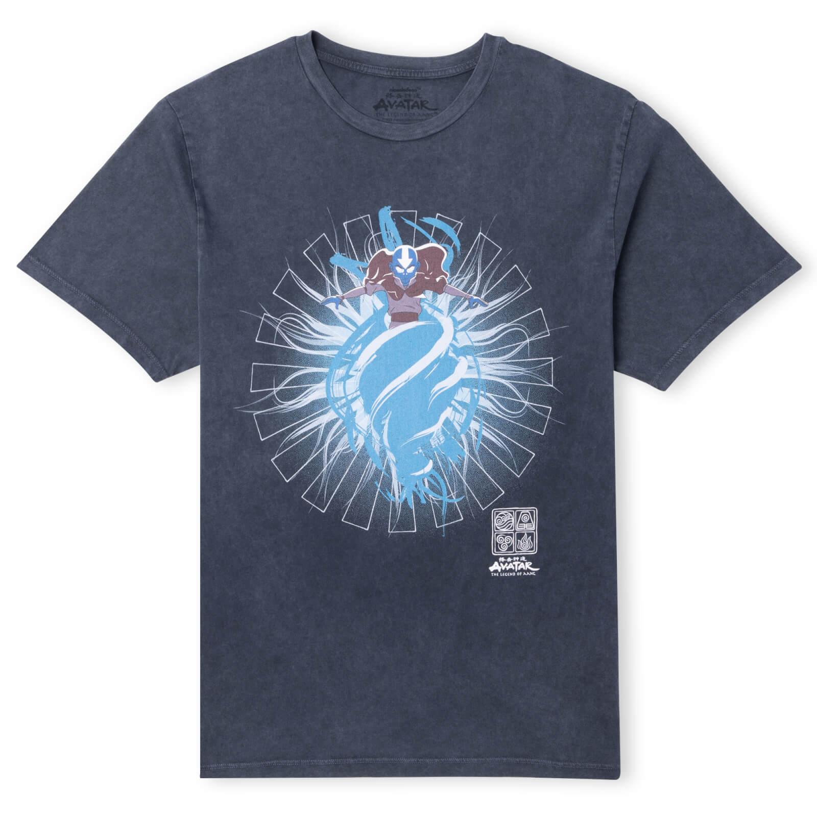 Avatar The Last Avatar Unisex T-Shirt - Navy Acid Wash - M