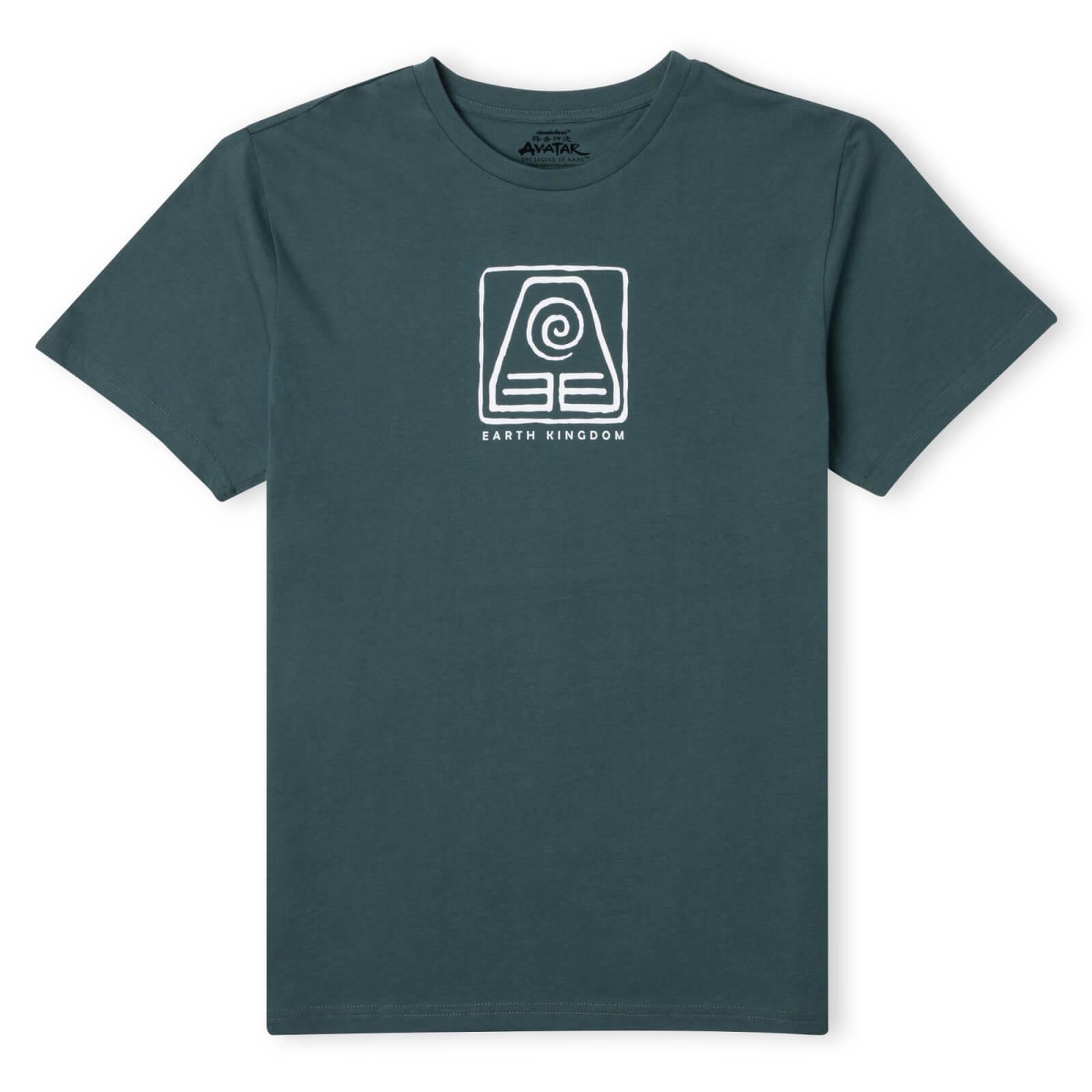 Avatar Earth Kingdom Unisex T-Shirt - Green - M