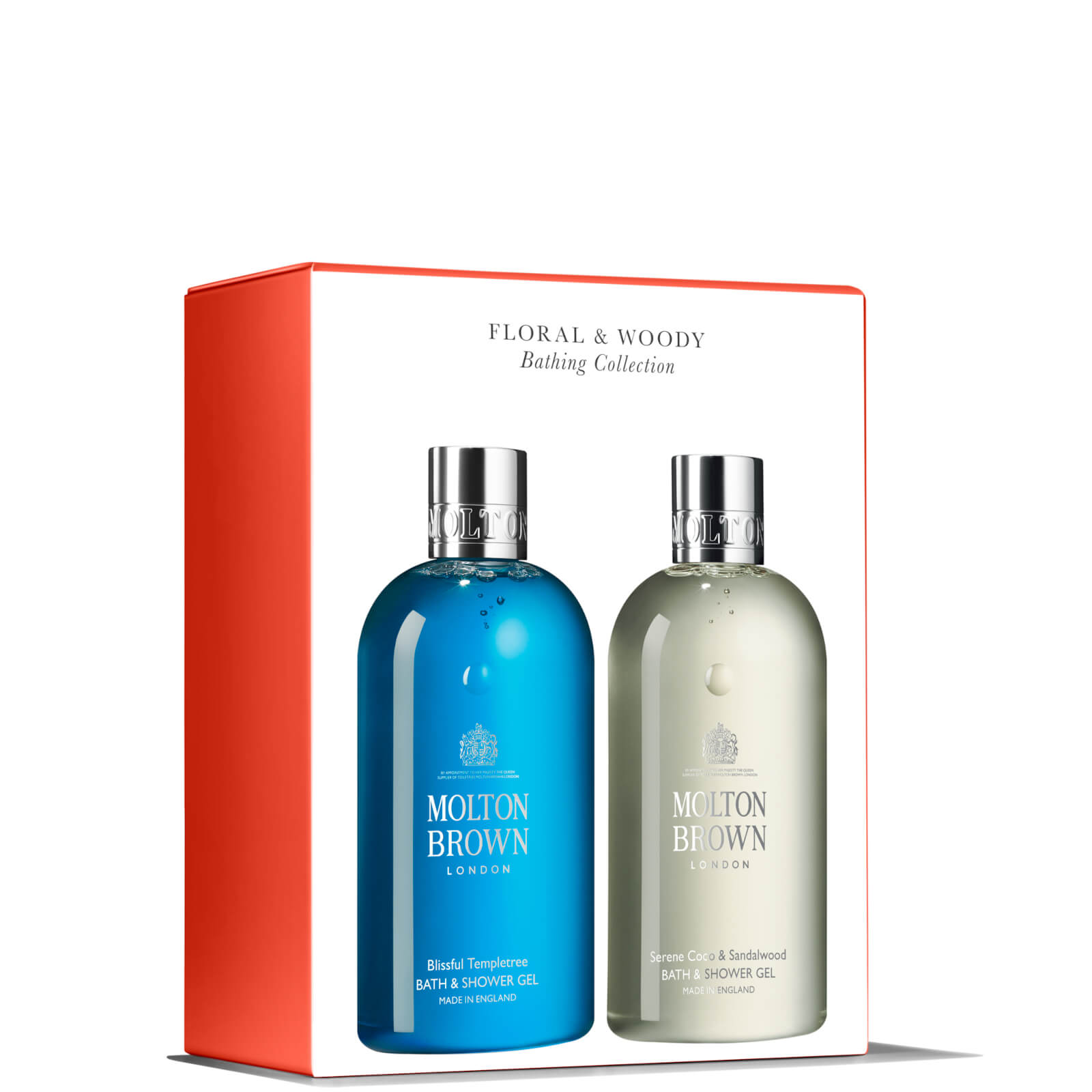 Molton Brown Floral and Woody Gift Set