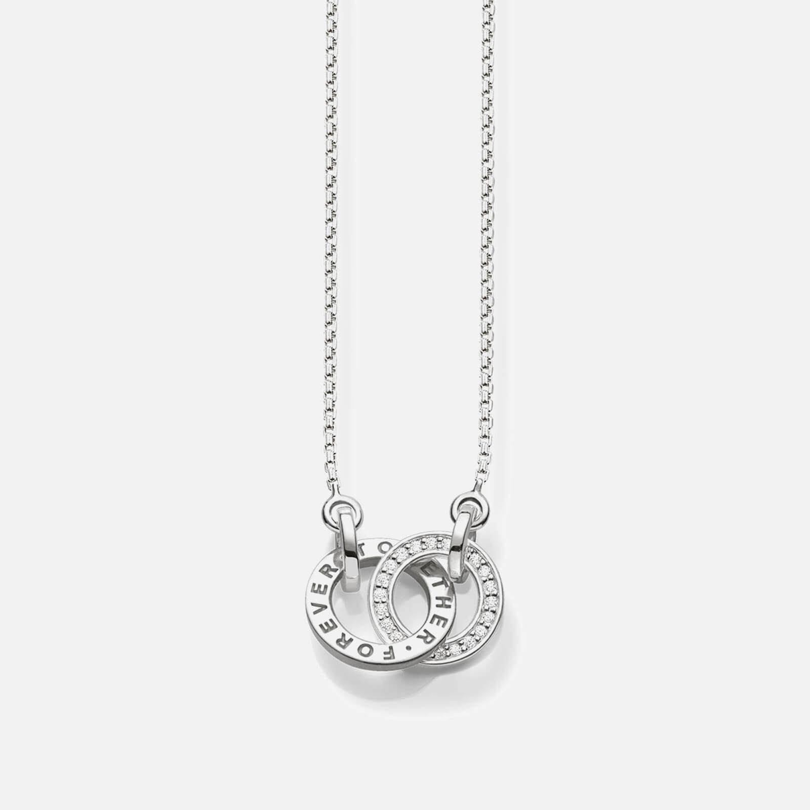 Thomas Sabo Women's Forever Together Necklace - Silver