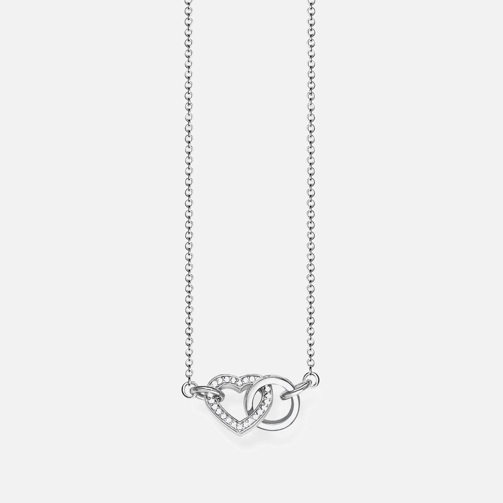 Thomas Sabo Women's Heart Together Necklace - Silver