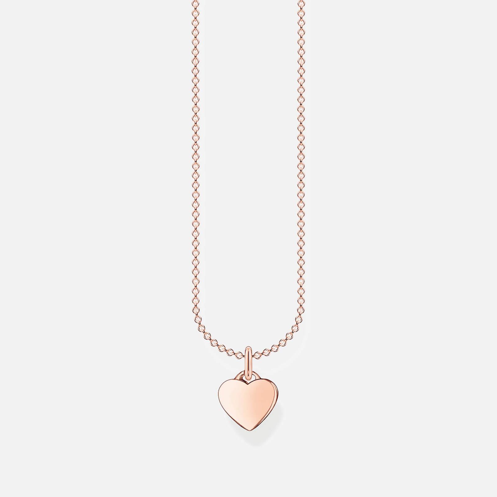 Thomas Sabo Women's Necklace - Rose Gold-Coloured