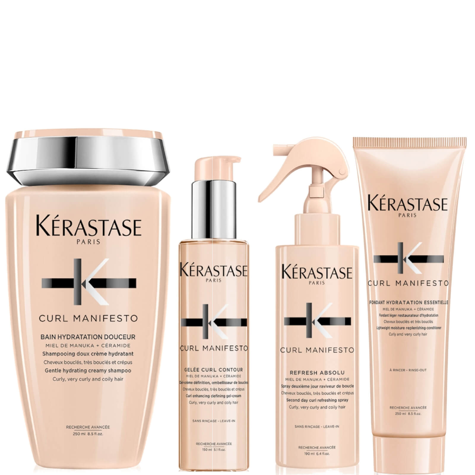 Kérastase Complete Care For Wavy To Curly Hair Bundle
