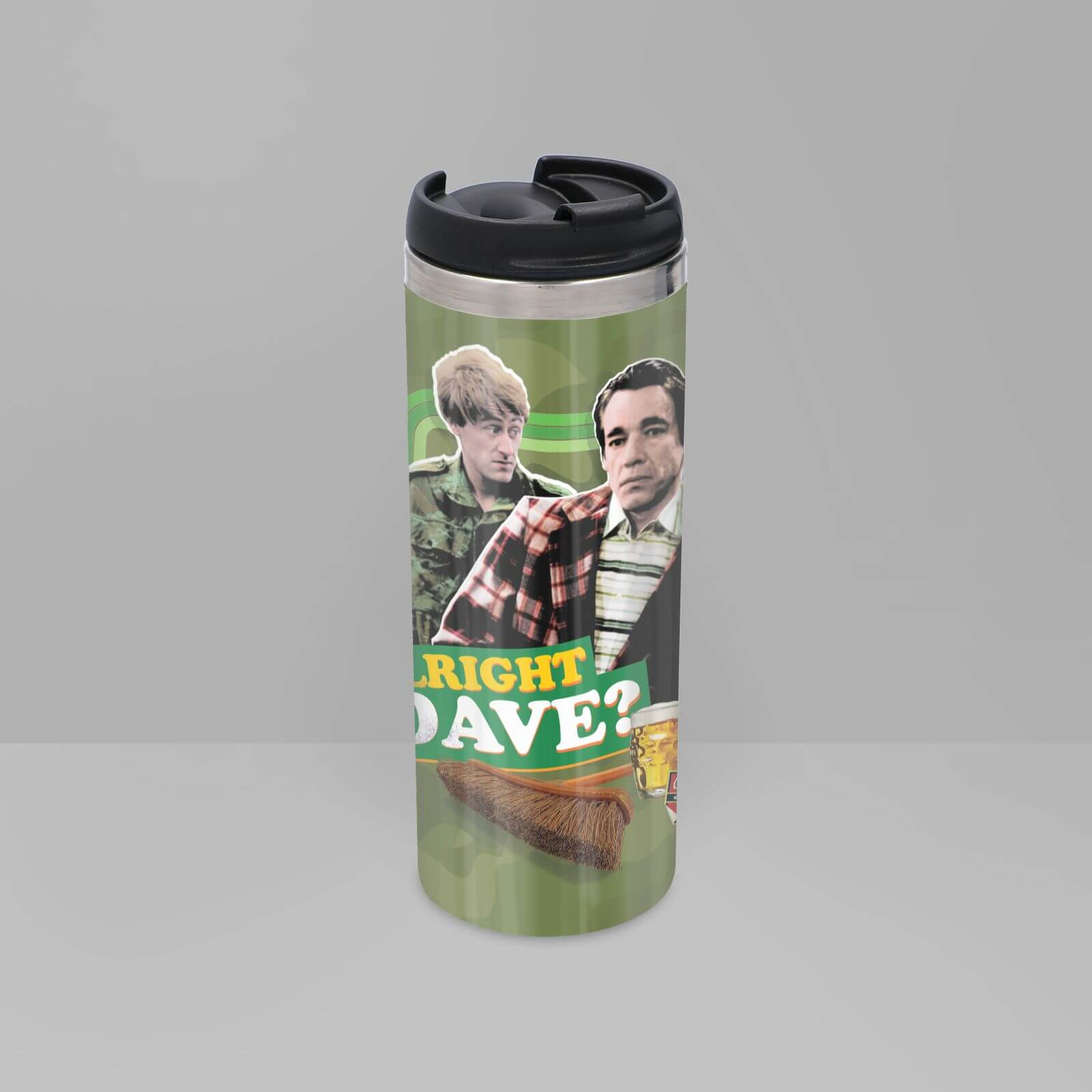 Only Fools And Horses Alright Dave Stainless Steel Thermo Travel Mug
