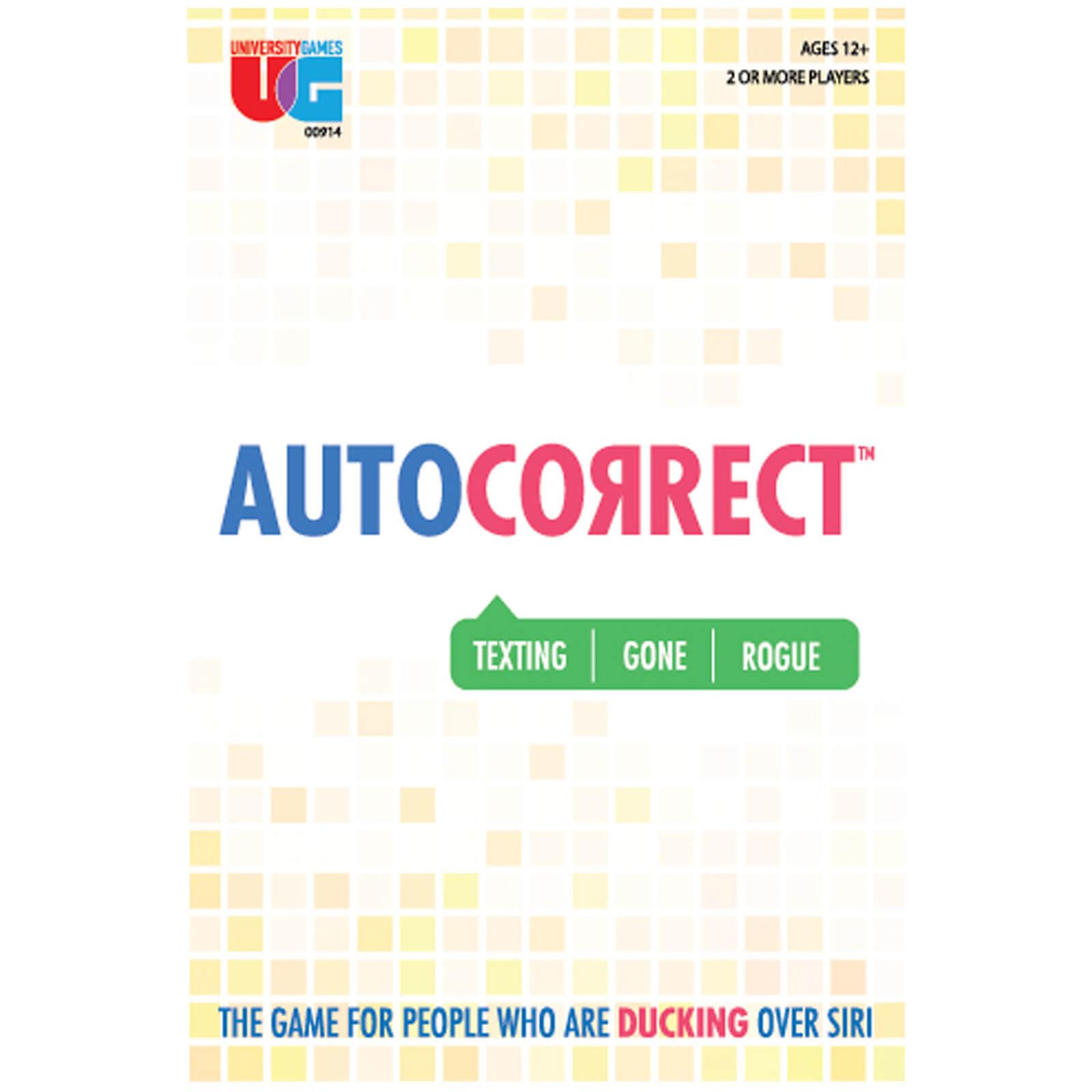 Auto Correct Card Game