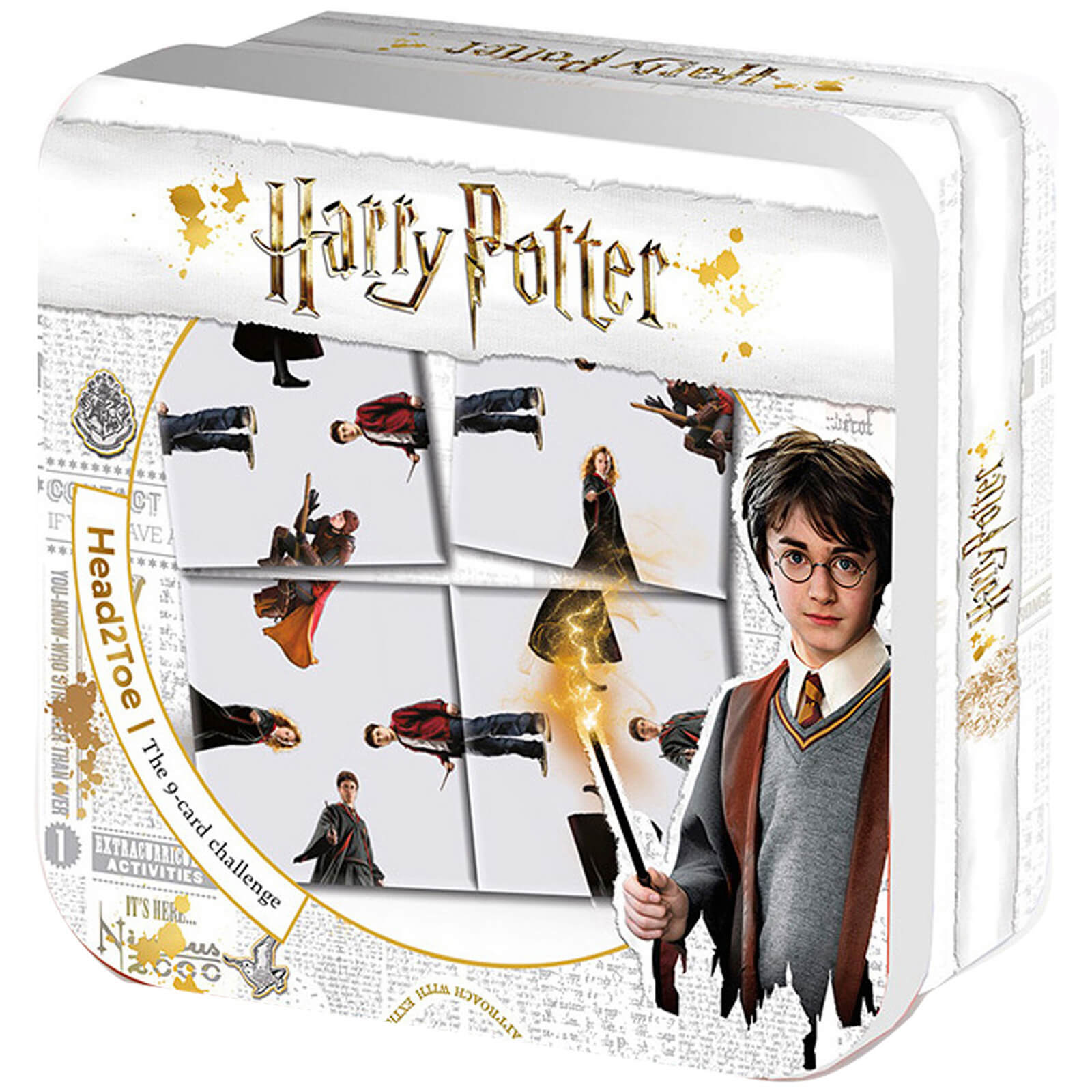 Image of Harry Potter and Friends Top 2 Toe Ultimate 9 Card Puzzle Challenge