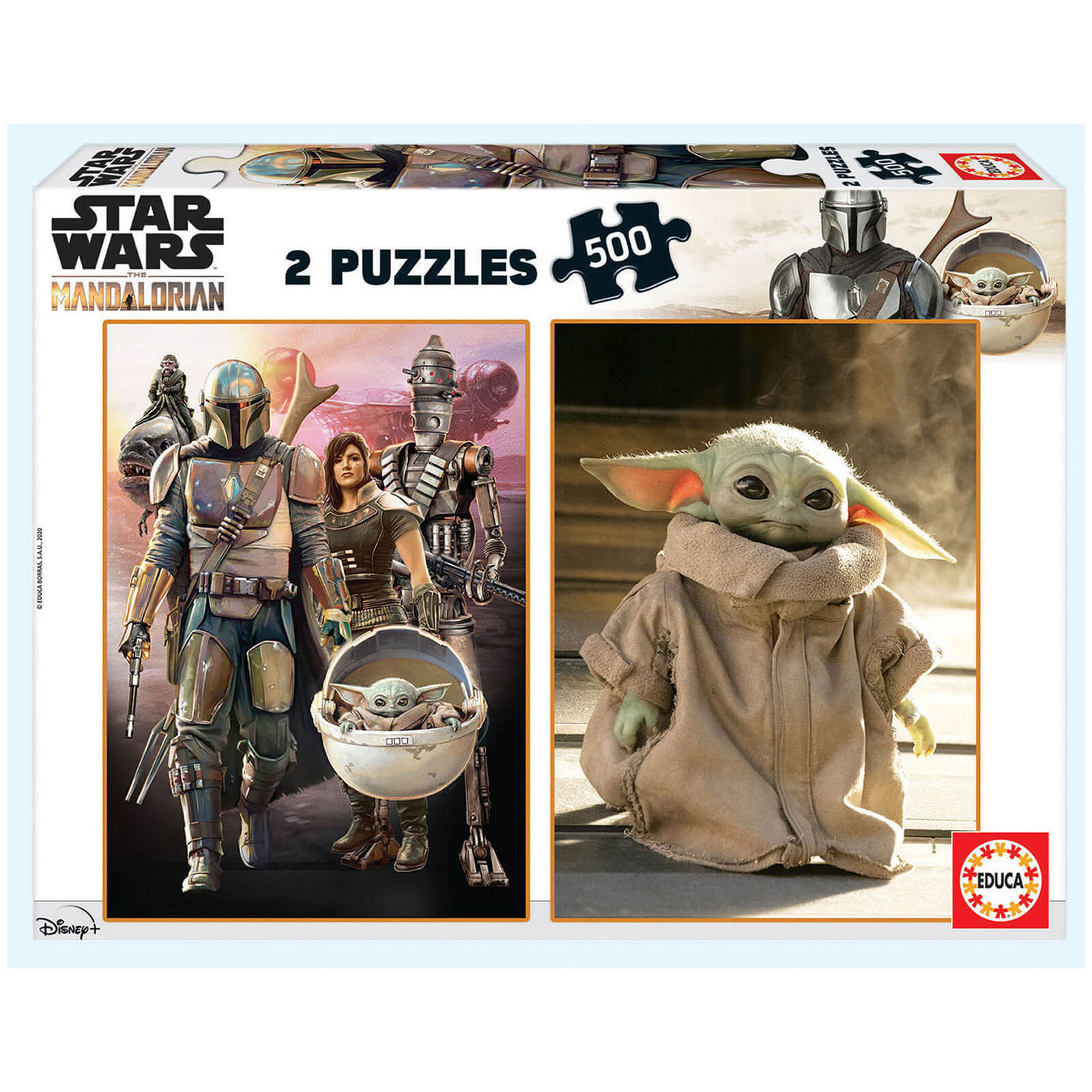 Image of Mandalorian 2-in-1 Jigsaw Puzzles (500 Pieces)