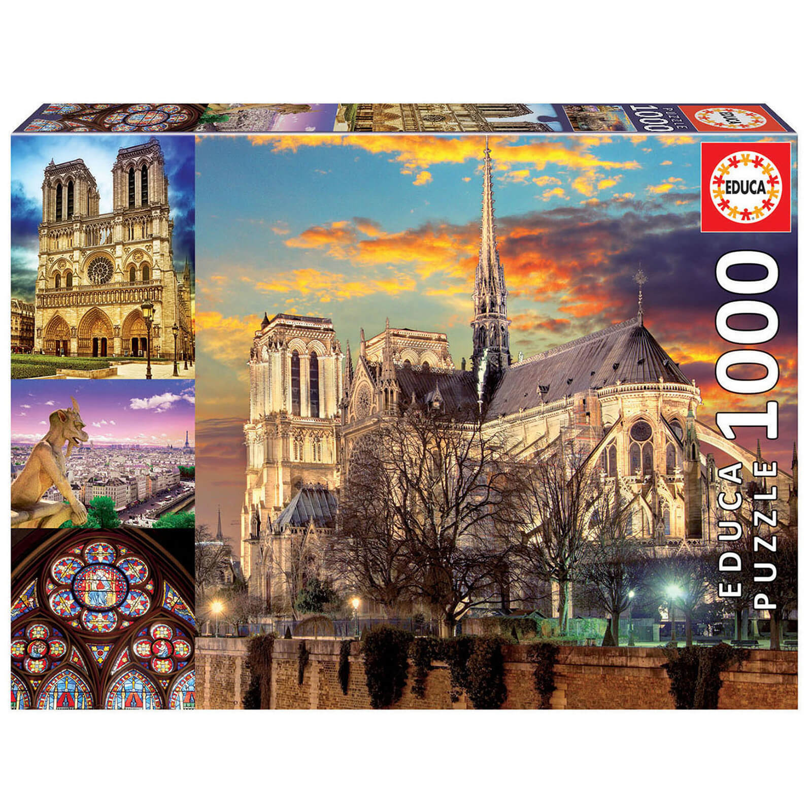 Image of Notre Dame Collage Jigsaw Puzzle (1000 Pieces)