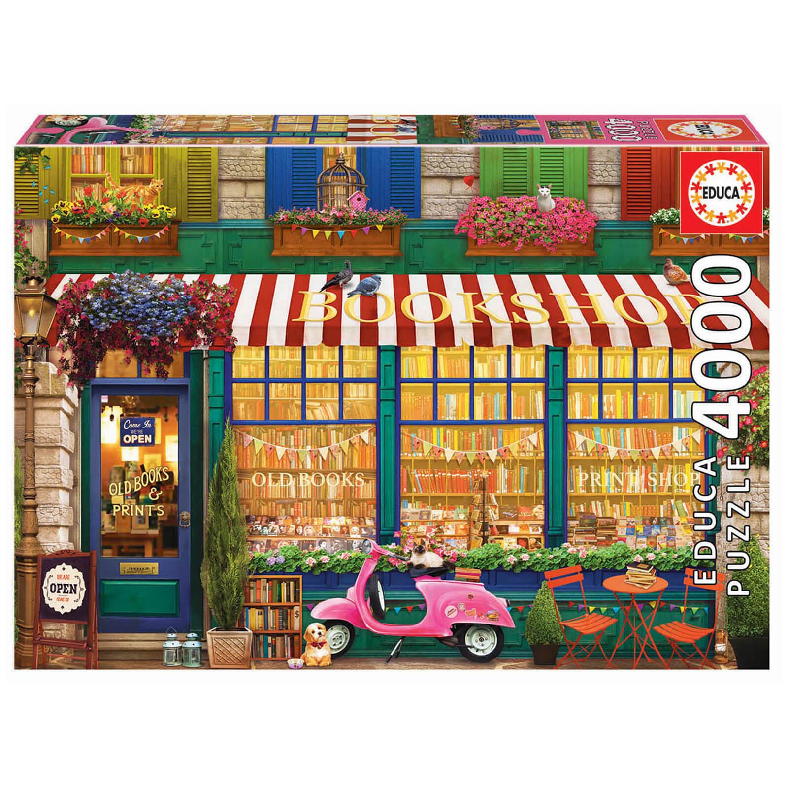 Image of Vintage Bookshop Jigsaw Puzzle (4000 pieces)