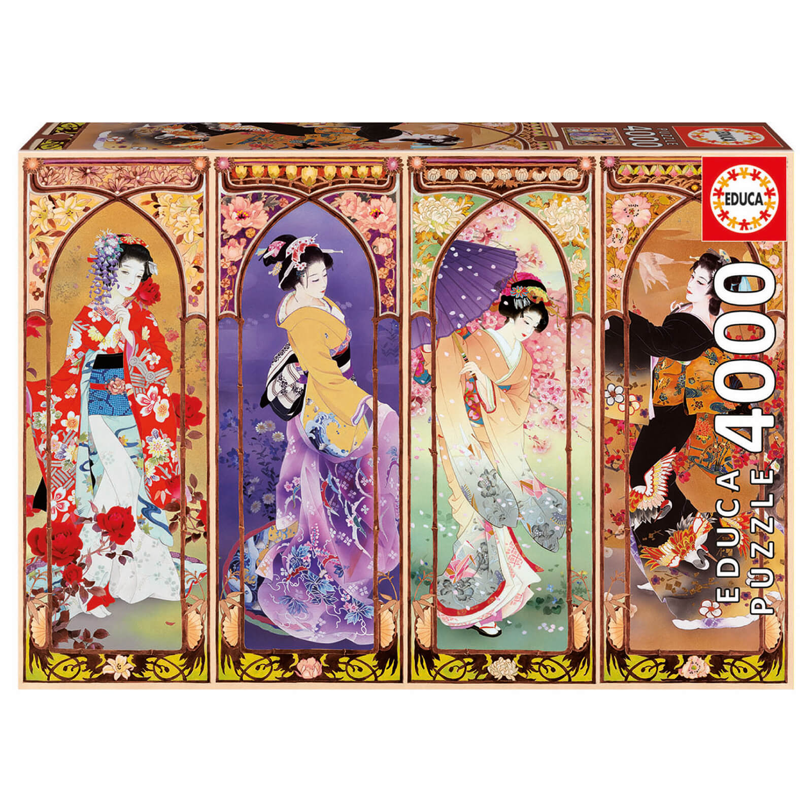 Image of Japanese Collage Jigsaw Puzzle (4000 pieces)