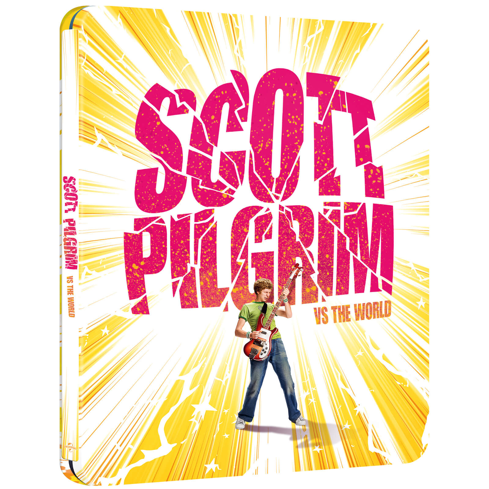 Scott Pilgrim Vs. The World -  Zavvi Exclusive 4K Ultra HD Steelbook (Includes Blu-ray)