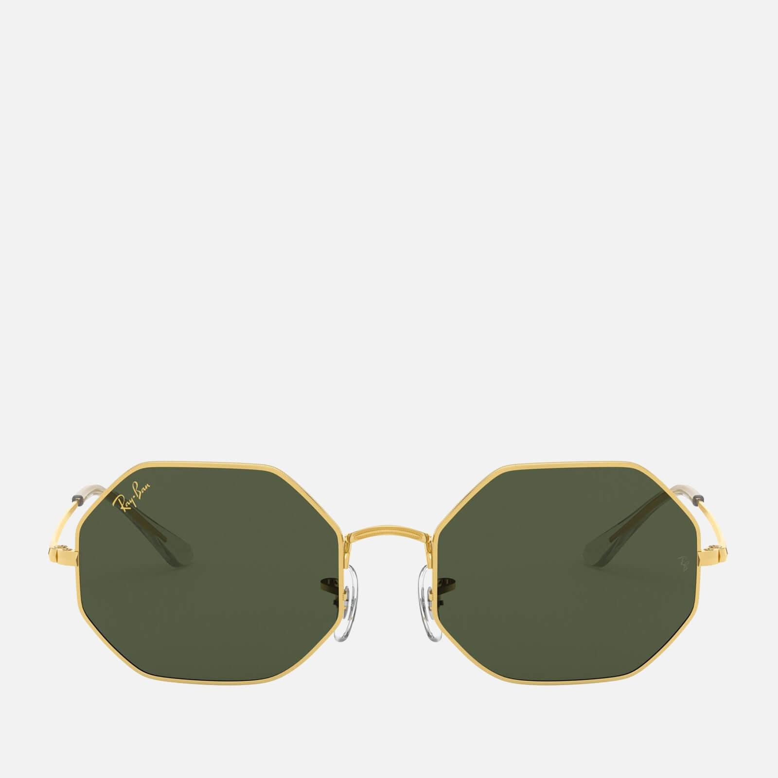 Ray-Ban Women's Octagonal Metal Sunglasses - Gold