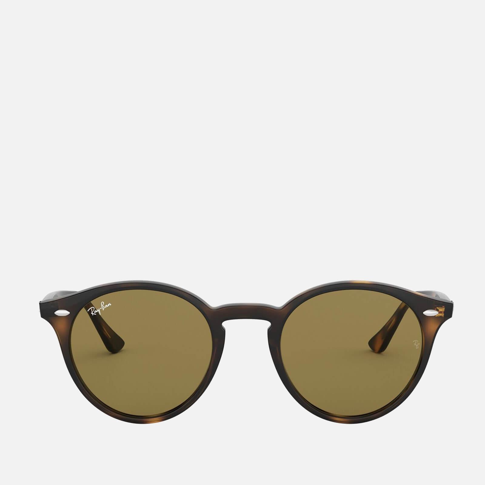 Ray-Ban Women's Round Acetate Tortoiseshell Sunglasses - Brown