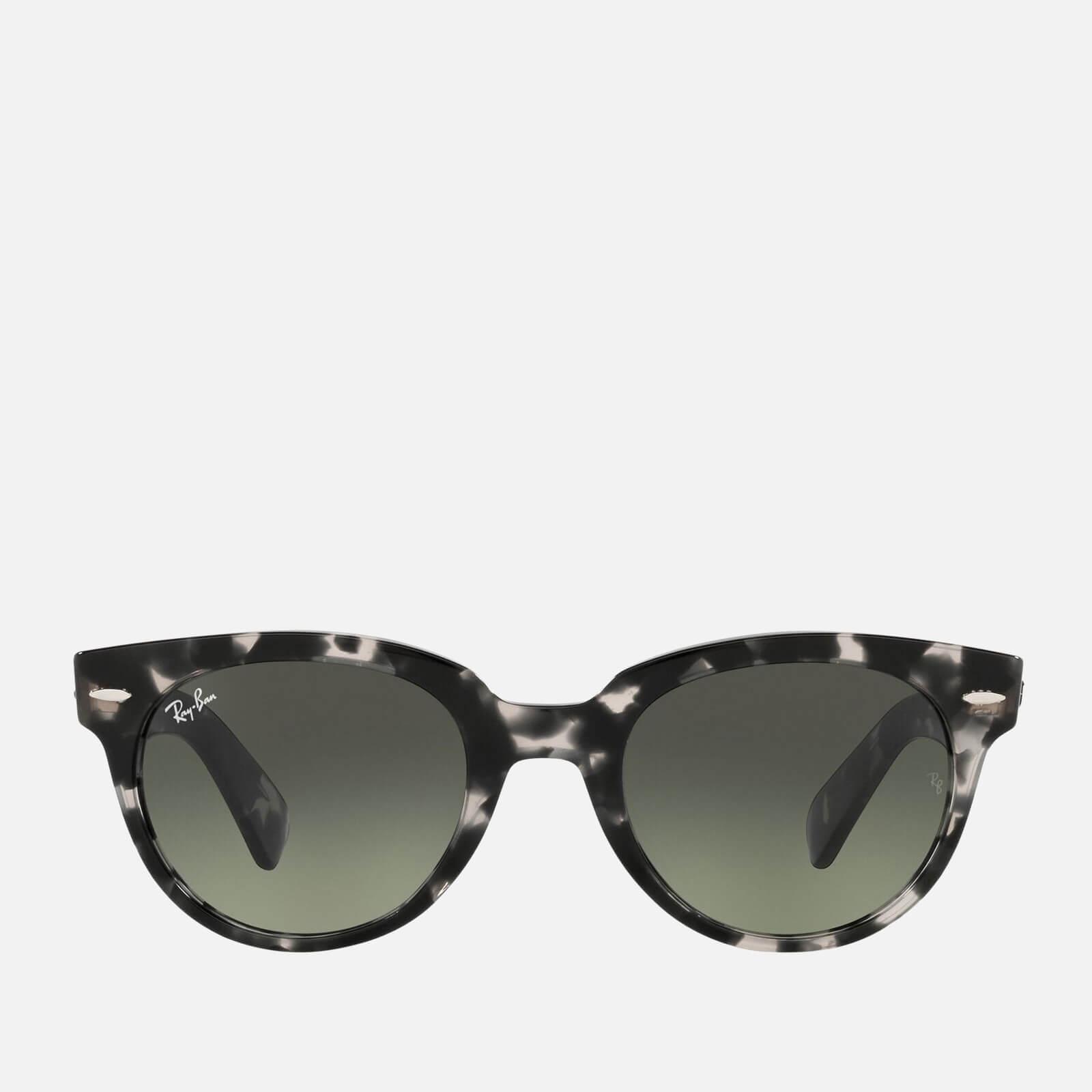 Ray-Ban Women's Orion Round Tortoiseshell Sunglasses - Grey