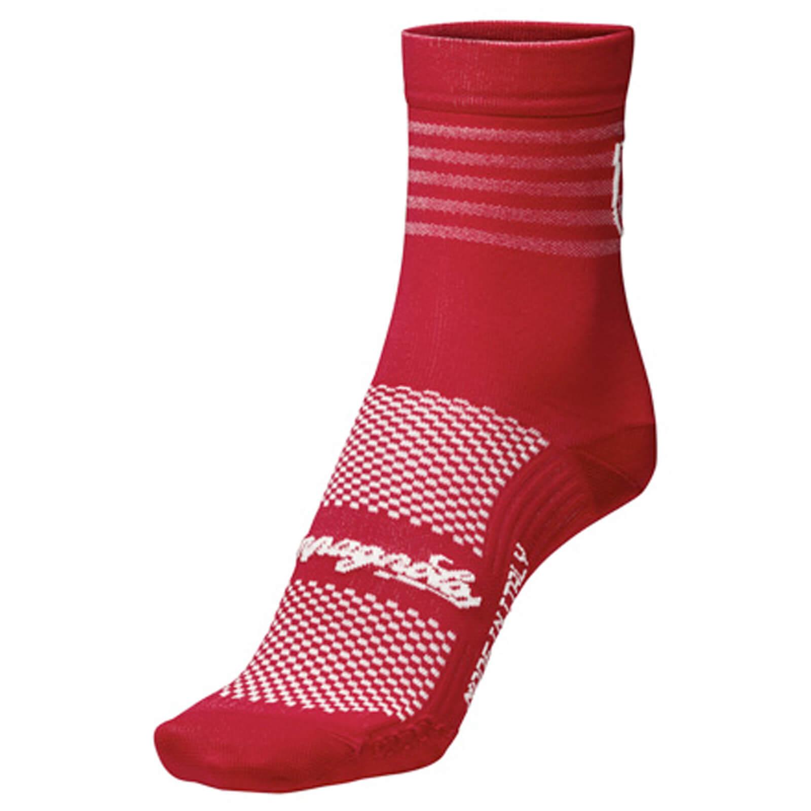 Nalini Campagnolo Litech Socks - L/XL - Rot