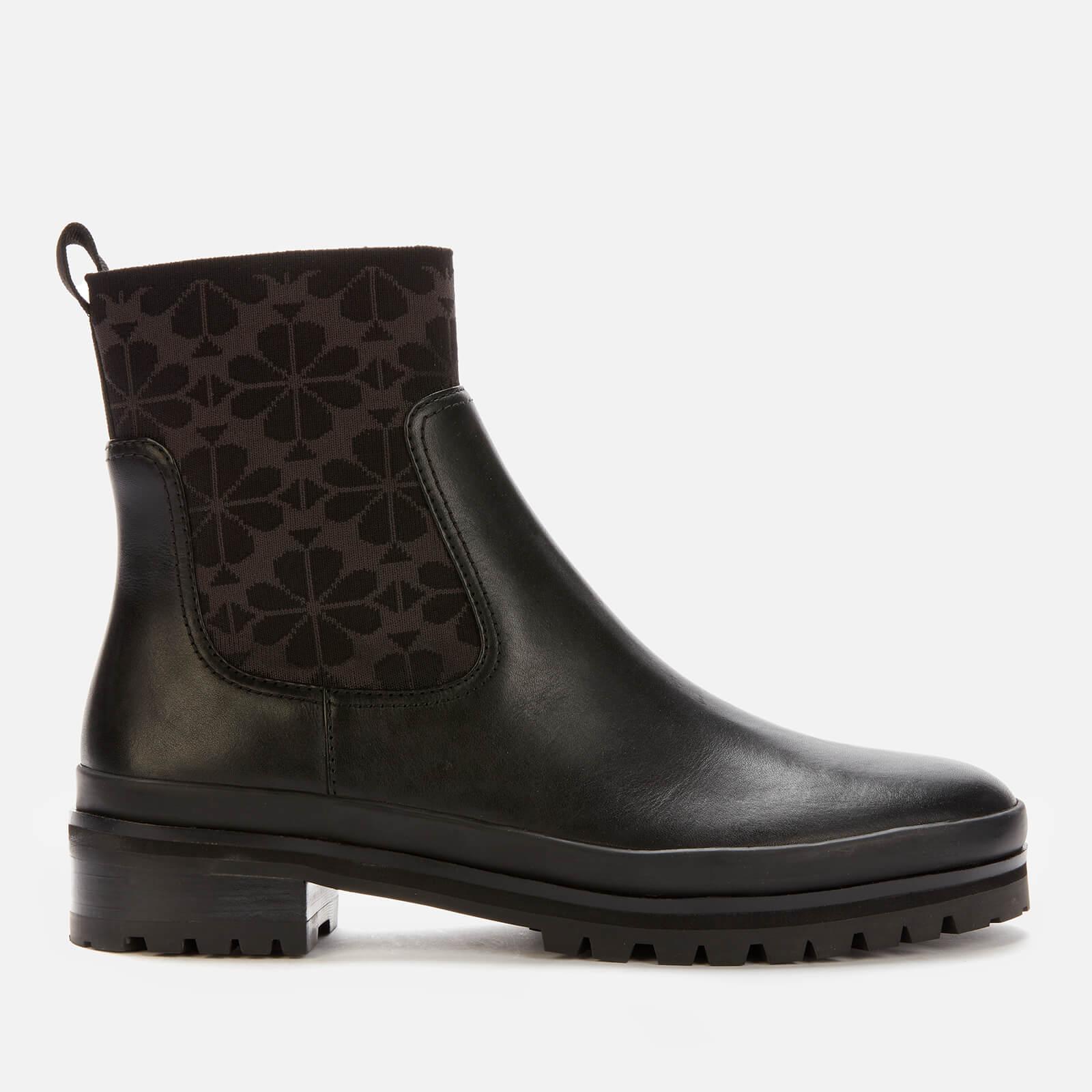 Kate Spade New York Women's Josie Leather Chelsea Boots - Black - UK 7