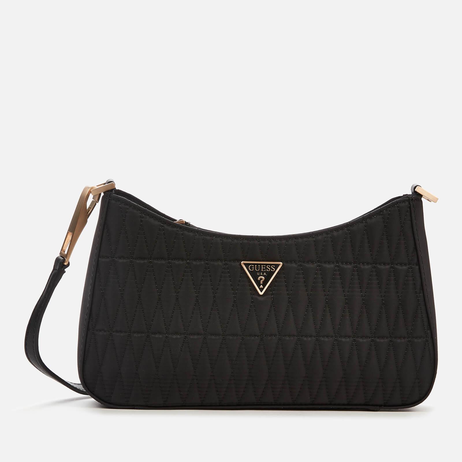 Guess Women's Layla Top Zip Shoulder Bag - Black
