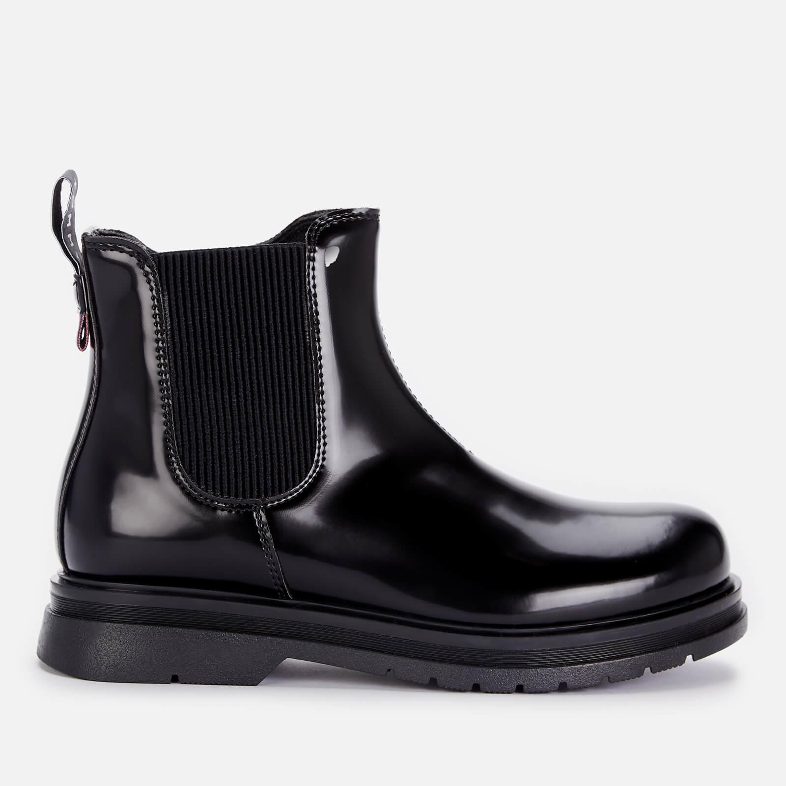 Tommy Hilfiger Girls' Chelsea Boot Black Black - UK 13 Kids