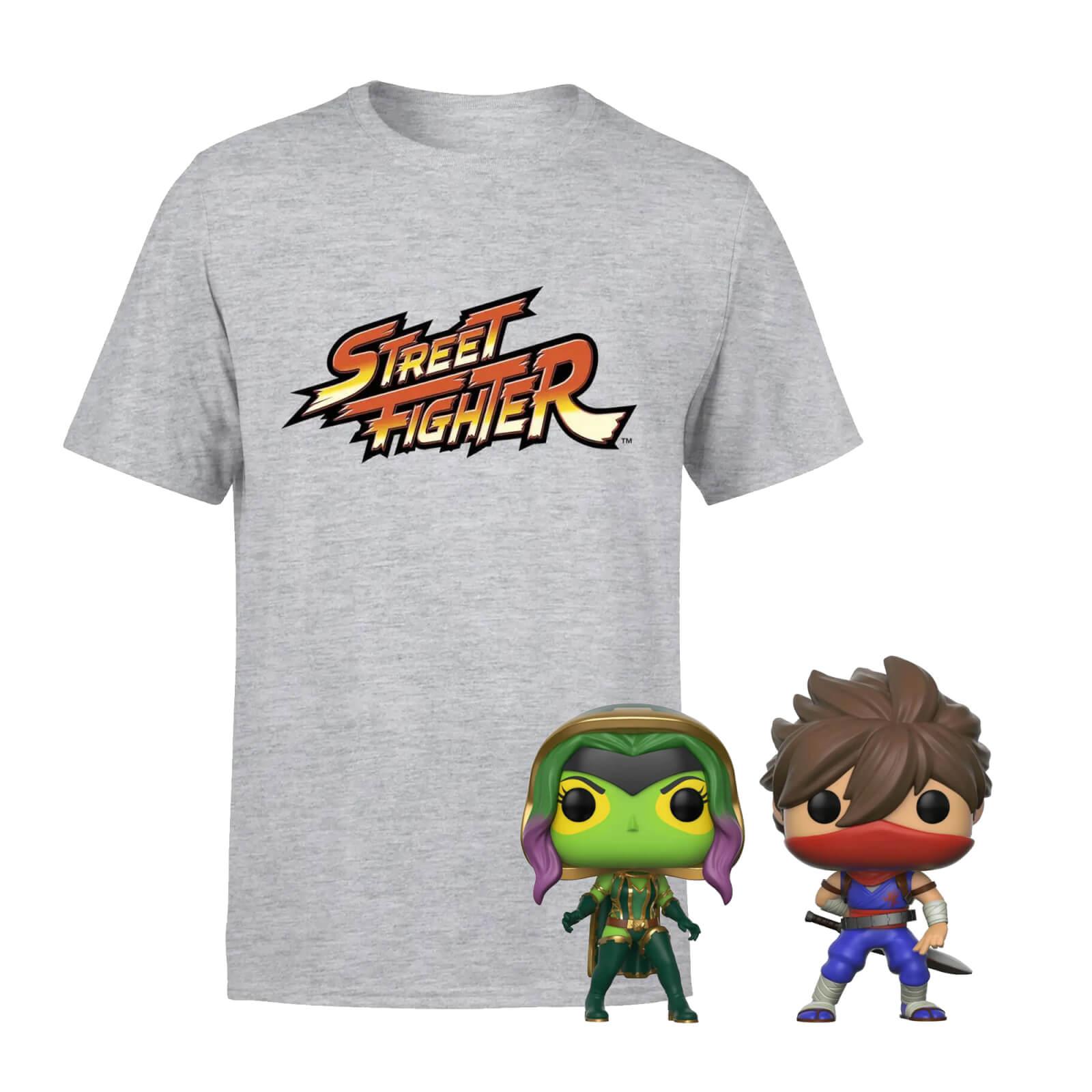 Marvel Vs Capcom T-Shirt & Pop Bundle - Herren - XXL