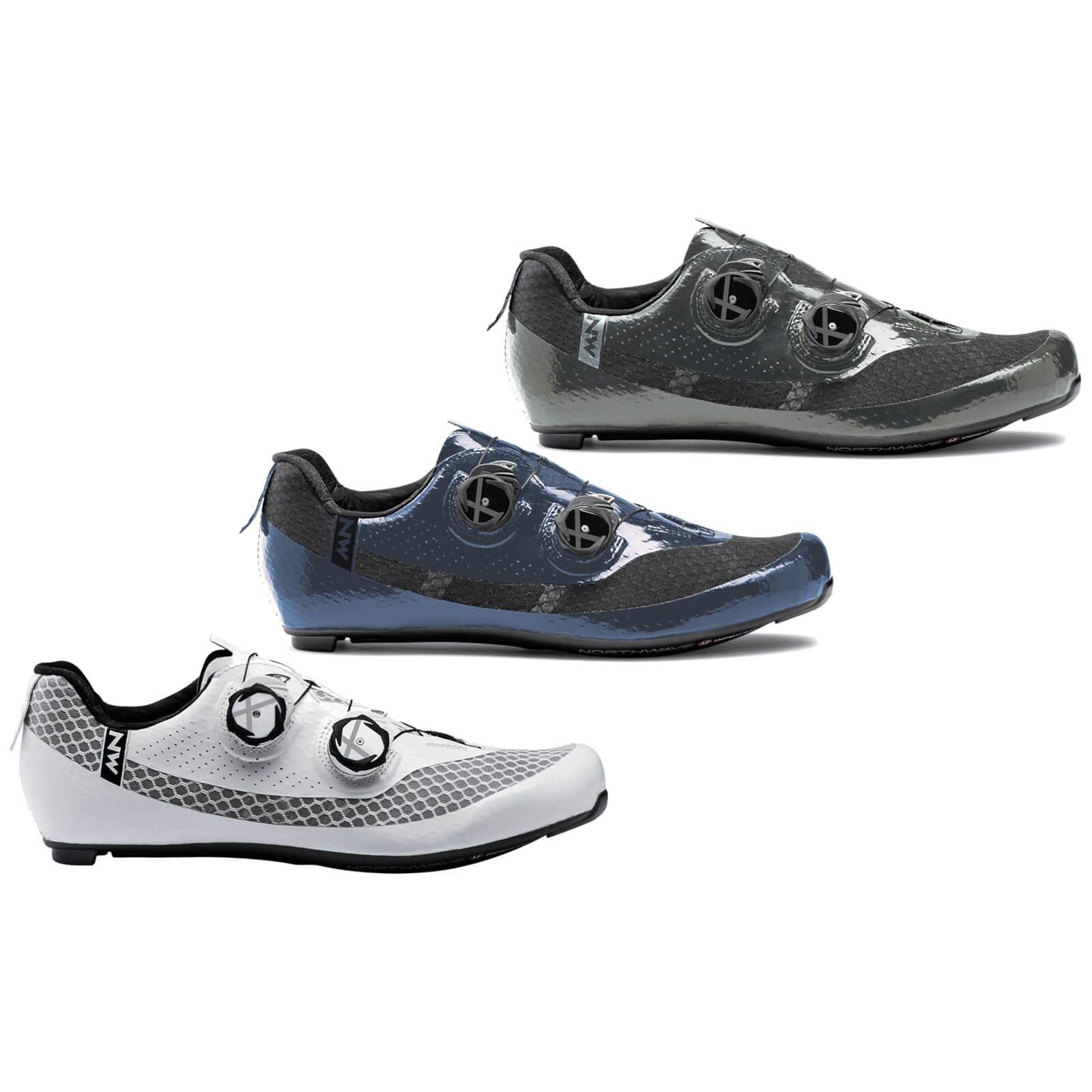 Image of Northwave Mistral Plus Road Shoes - 2021 - Metal Anthracite / EU45