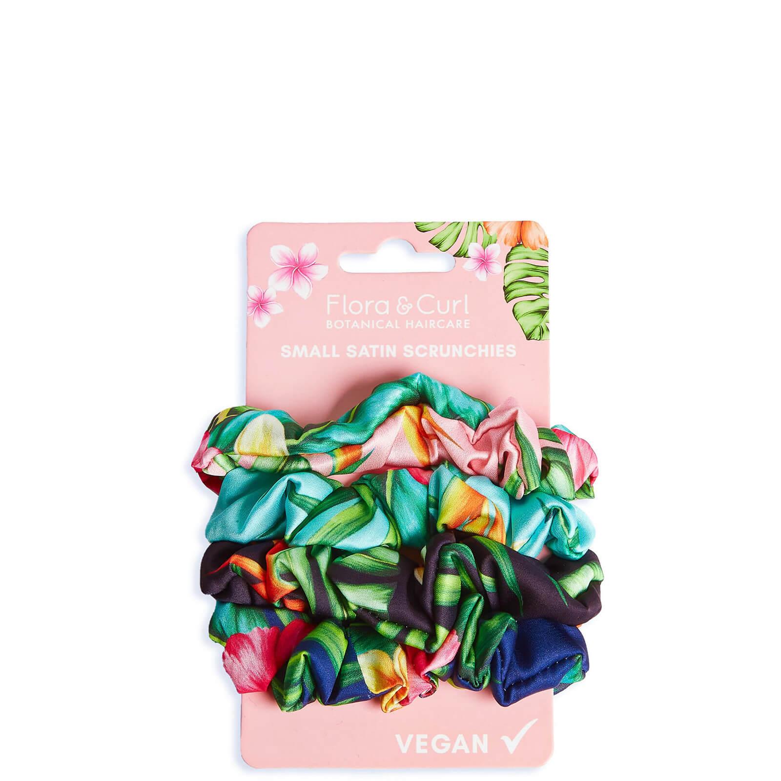 Купить Flora & Curl Small Satin Scrunchies