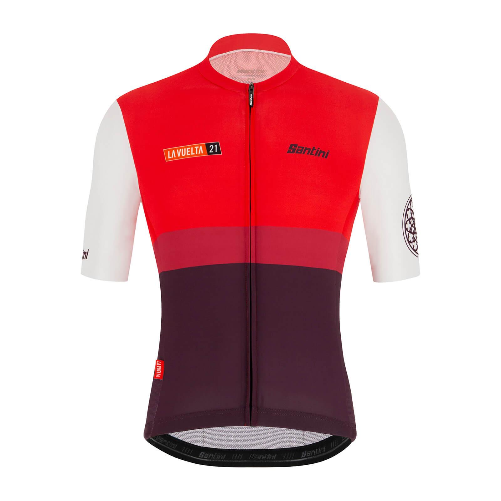 Santini La Vuelta 2021 Burgos Jersey - S